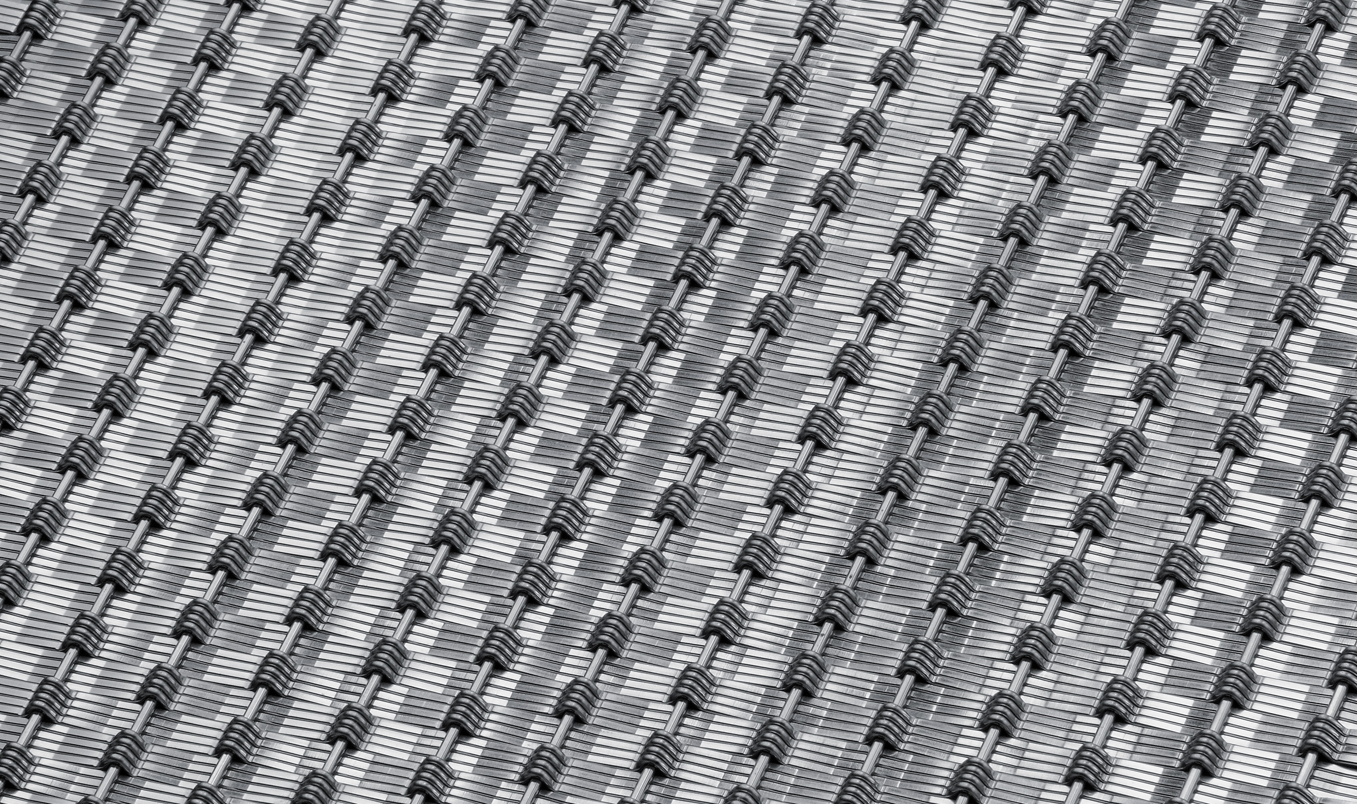 DF-8 Stainless metal mesh for wall panels backside image