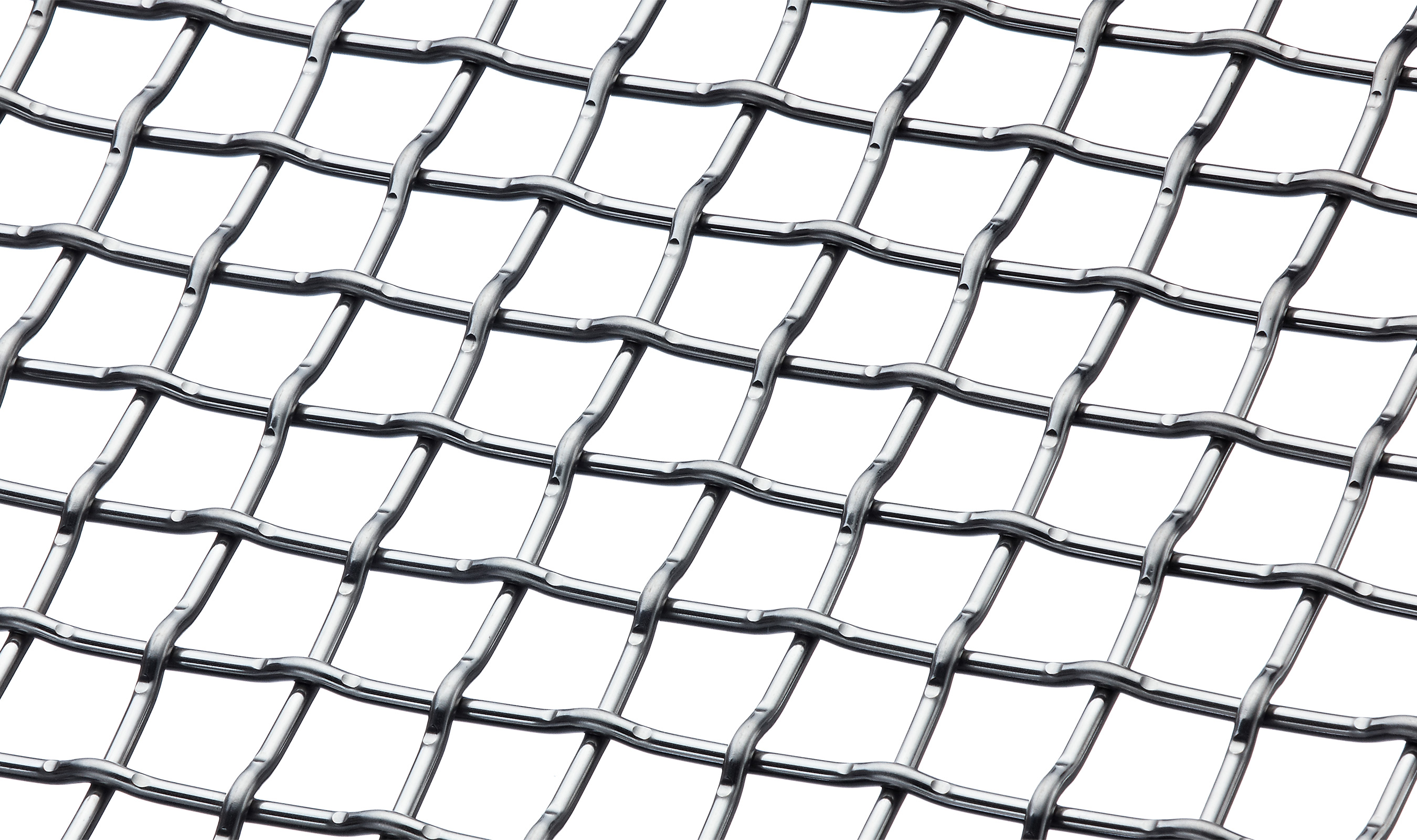 F-48 wire mesh pattern showing the backside