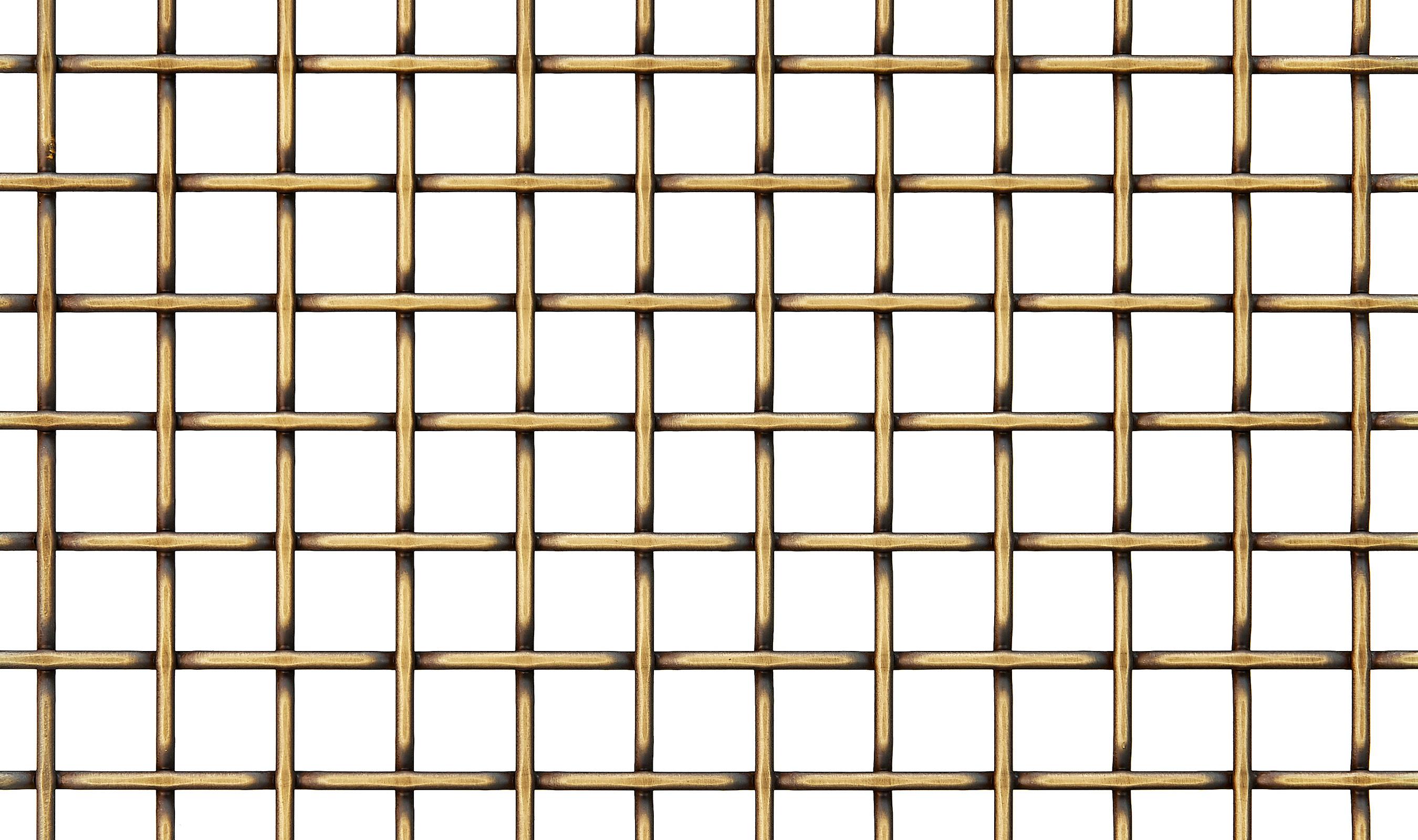 F-48 wire mesh Antique Brass decorative plating finish