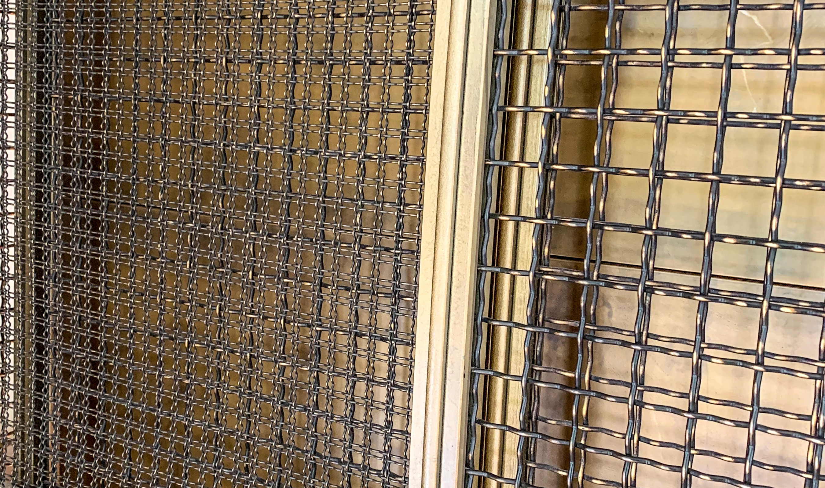 I-188 decorative plated wire mesh