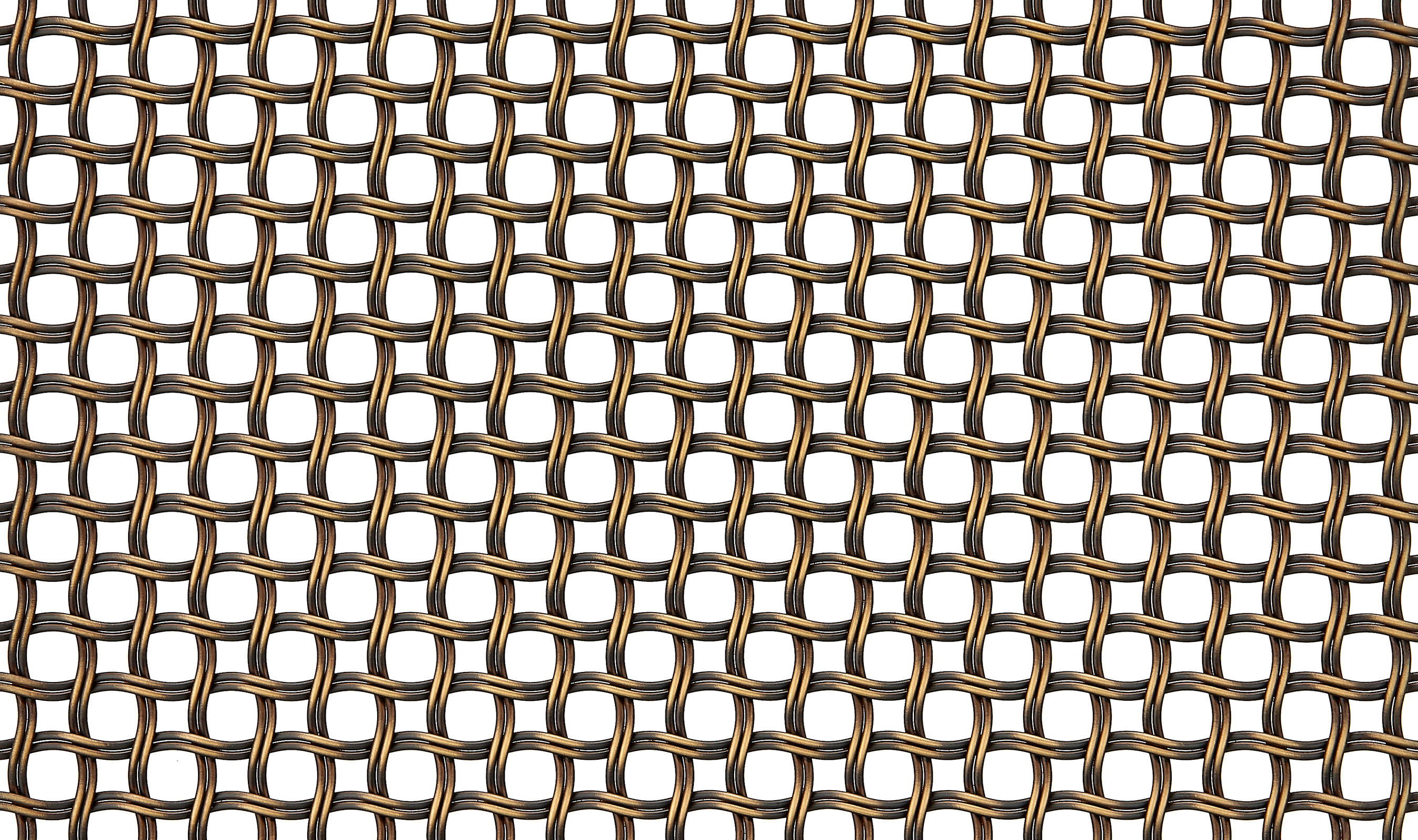 Banker Wire M22-83 antique brass plated wire mesh pattern