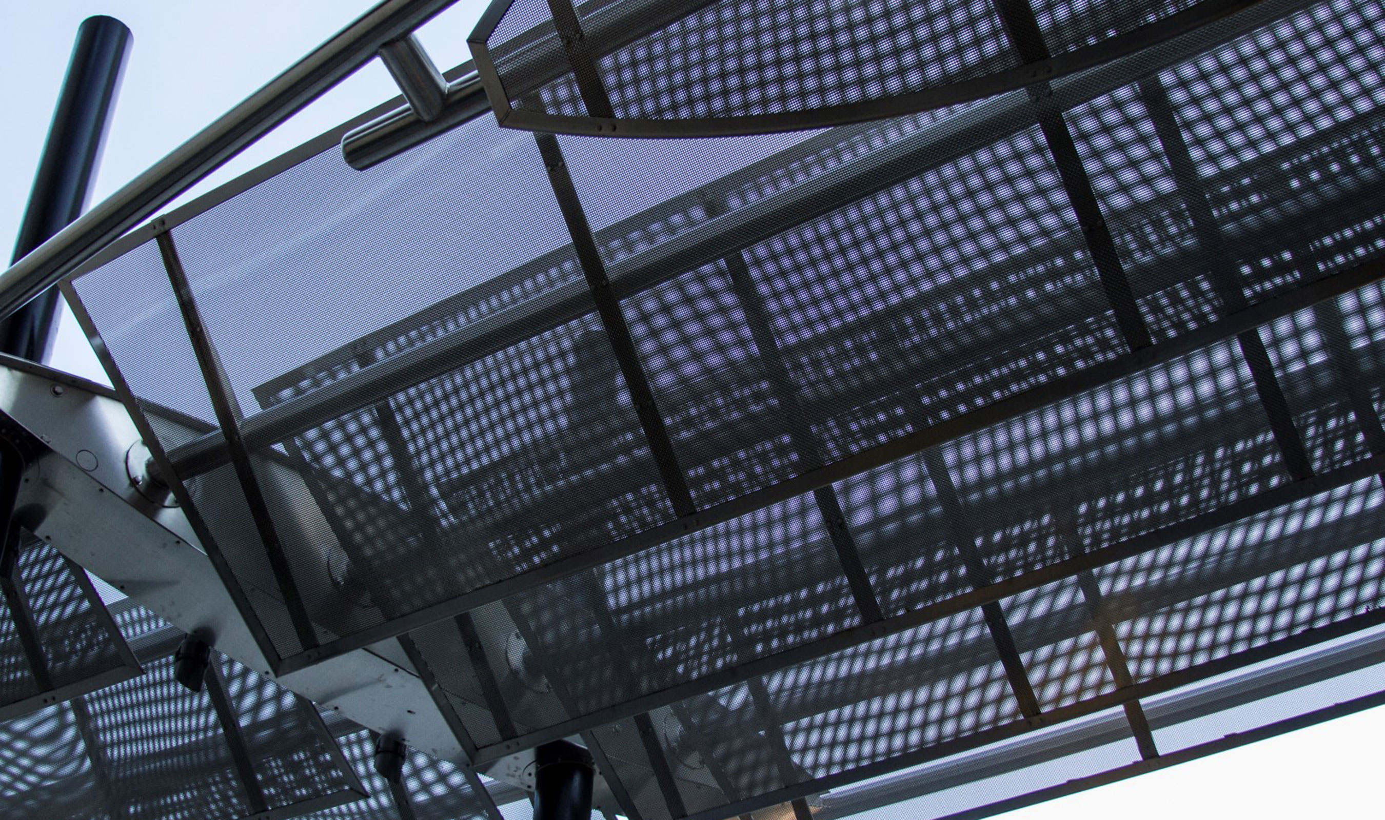 S-12 wire mesh canopy