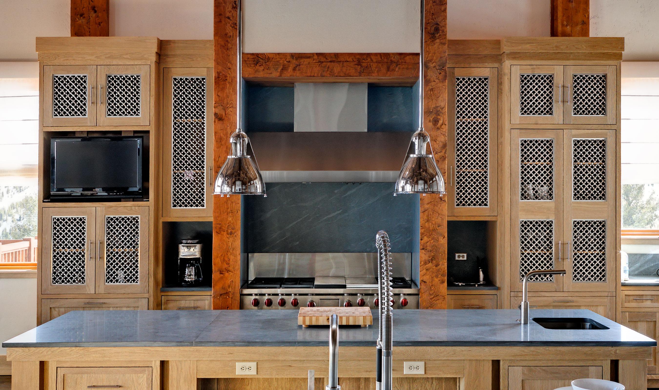 S-15 stainless steel kitchen cabinet mesh
