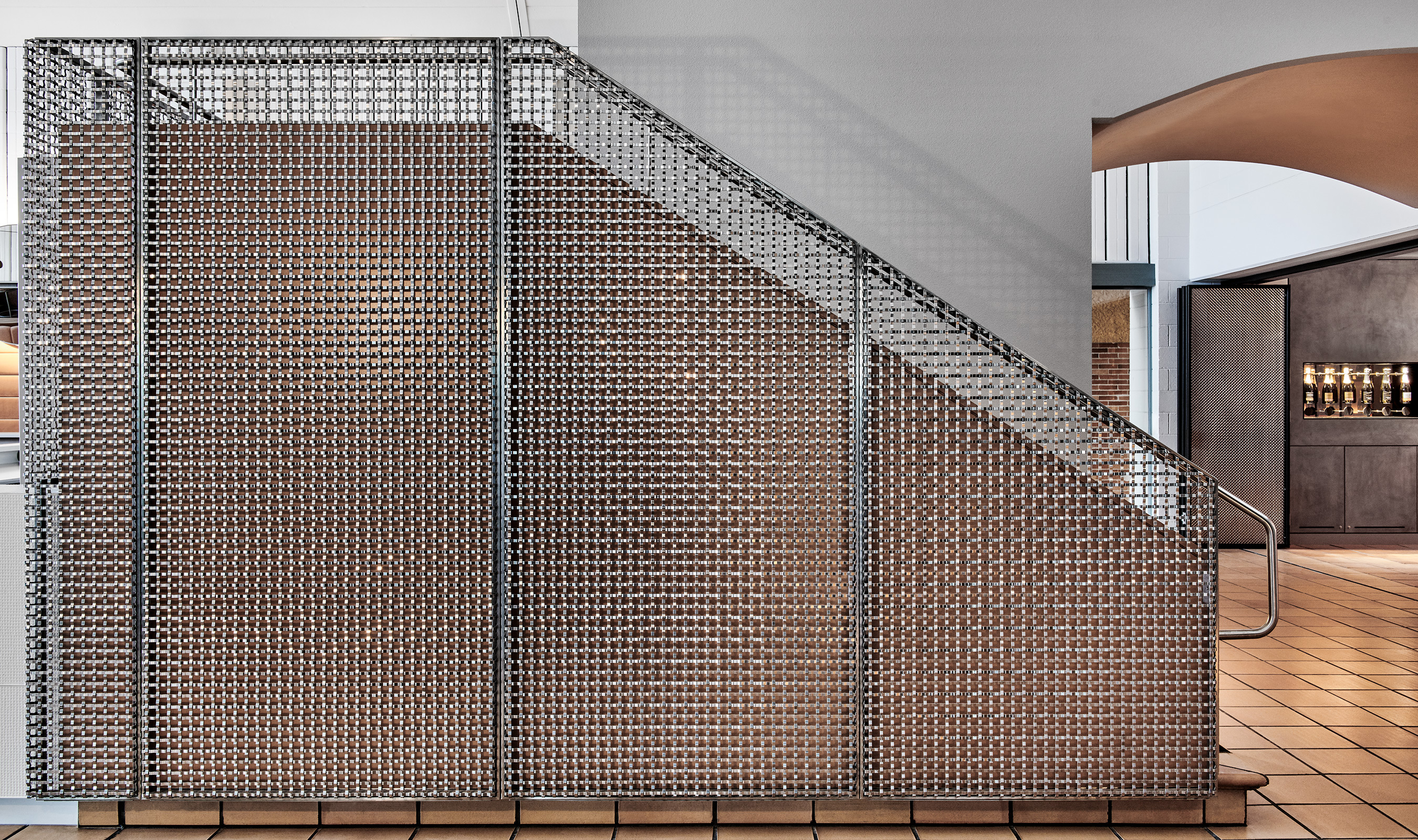 S-15 Wire mesh pattern in Stain less steel