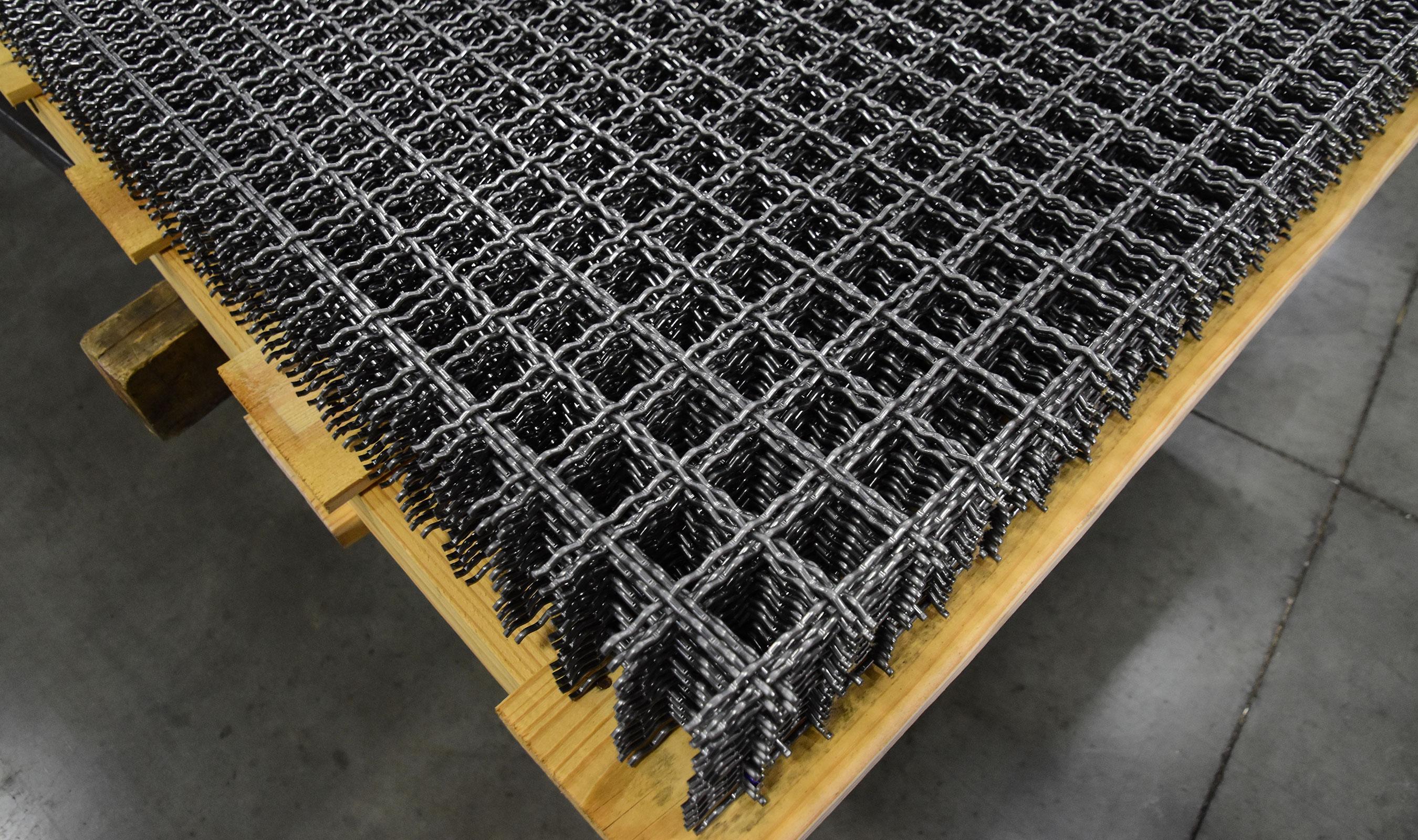 I-48 plain steel woven wire mesh