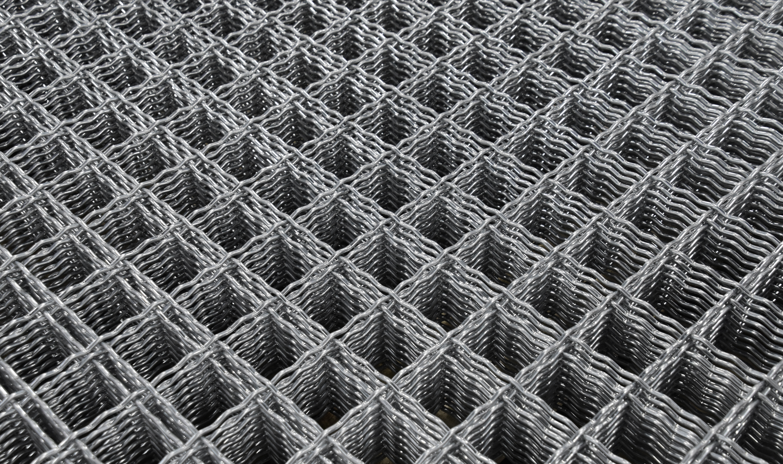 I-73 wire mesh pattern woven in Pre-Galv material