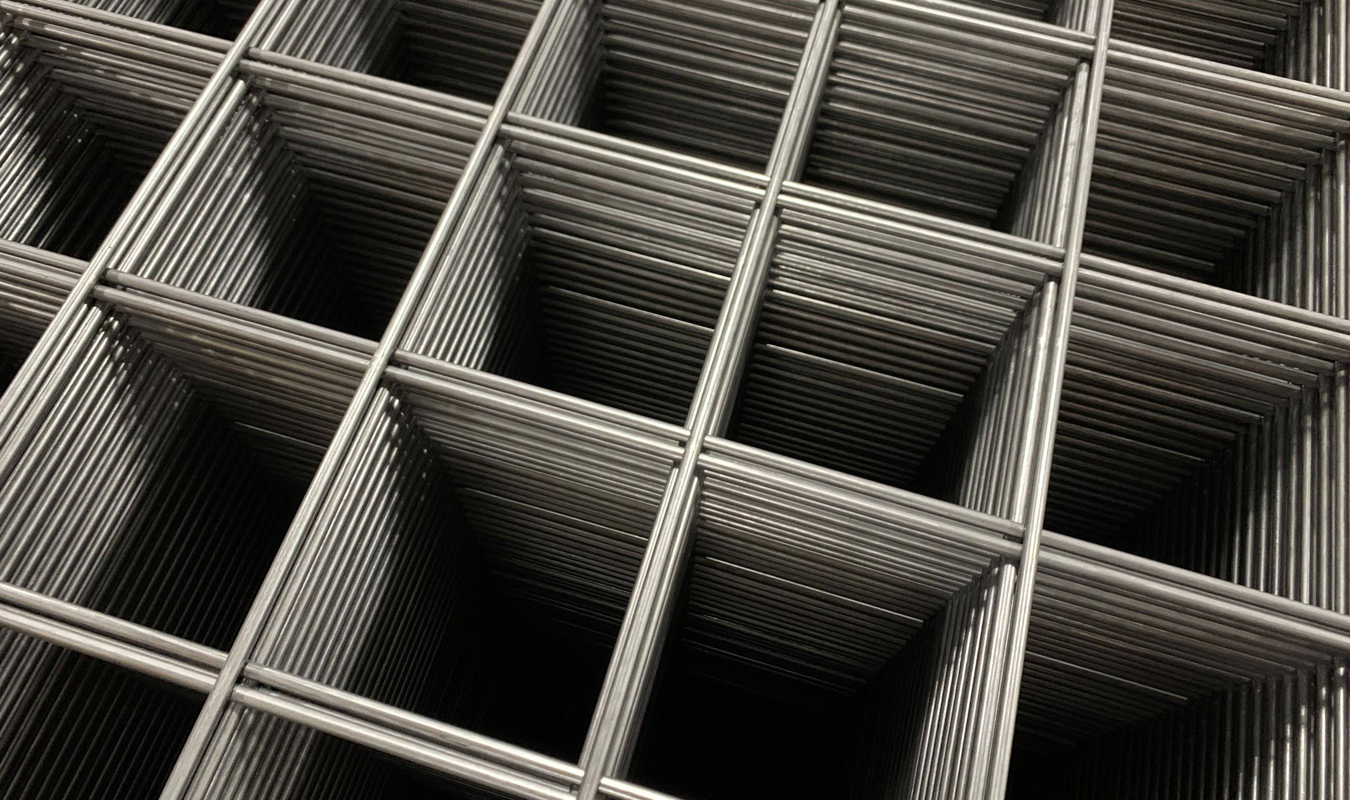 WD-031 welded wire mesh in Plain Steel