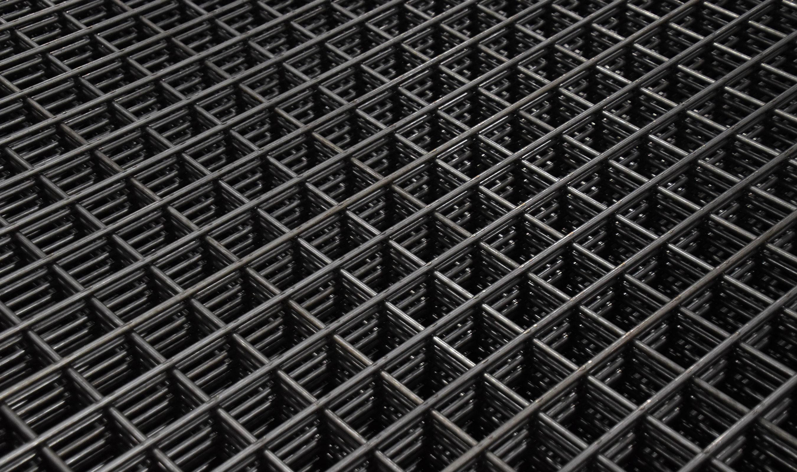 WD-099 welded wire mesh in plain steel