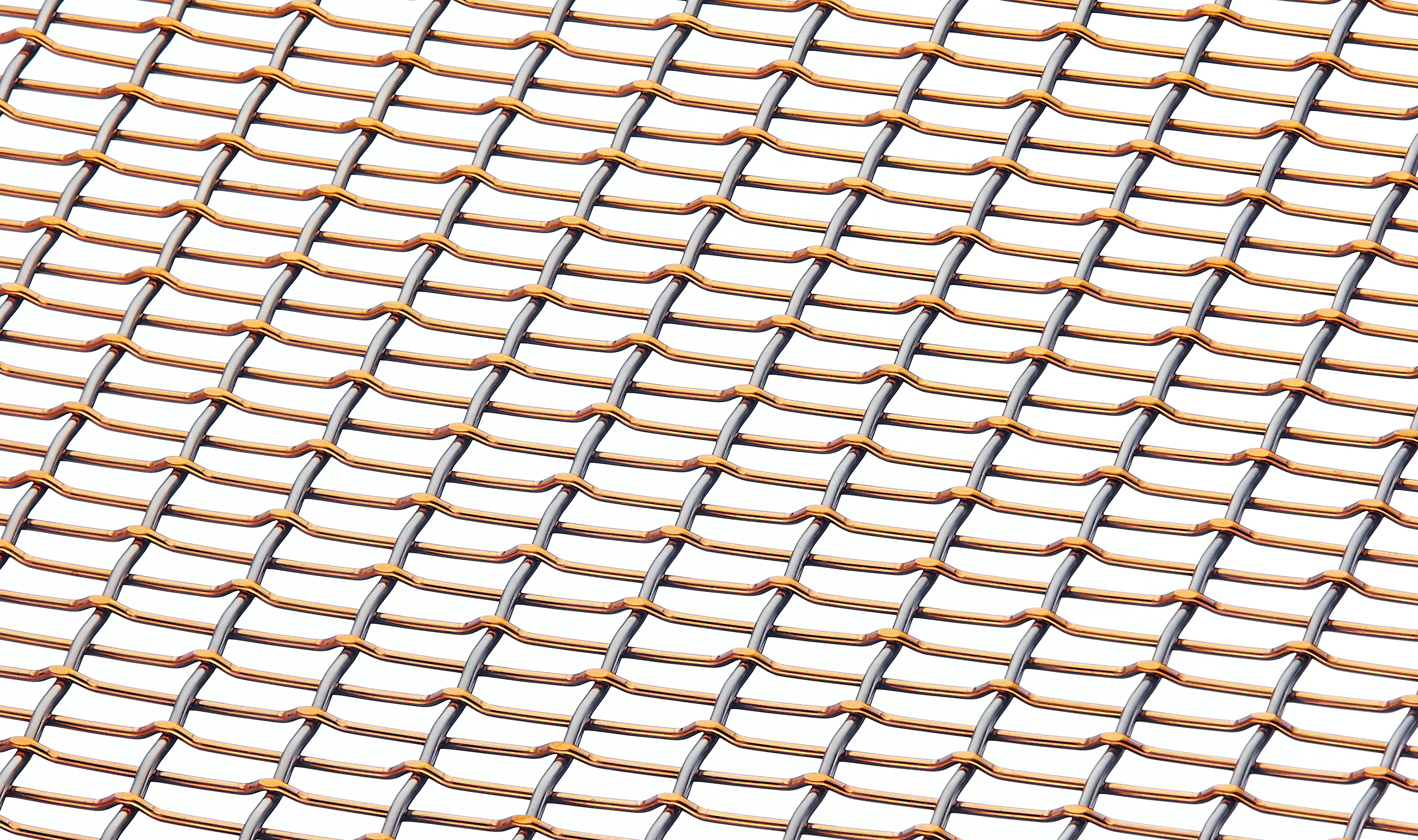 FPZ-44 Bronze and stainless steel wire mesh pattern