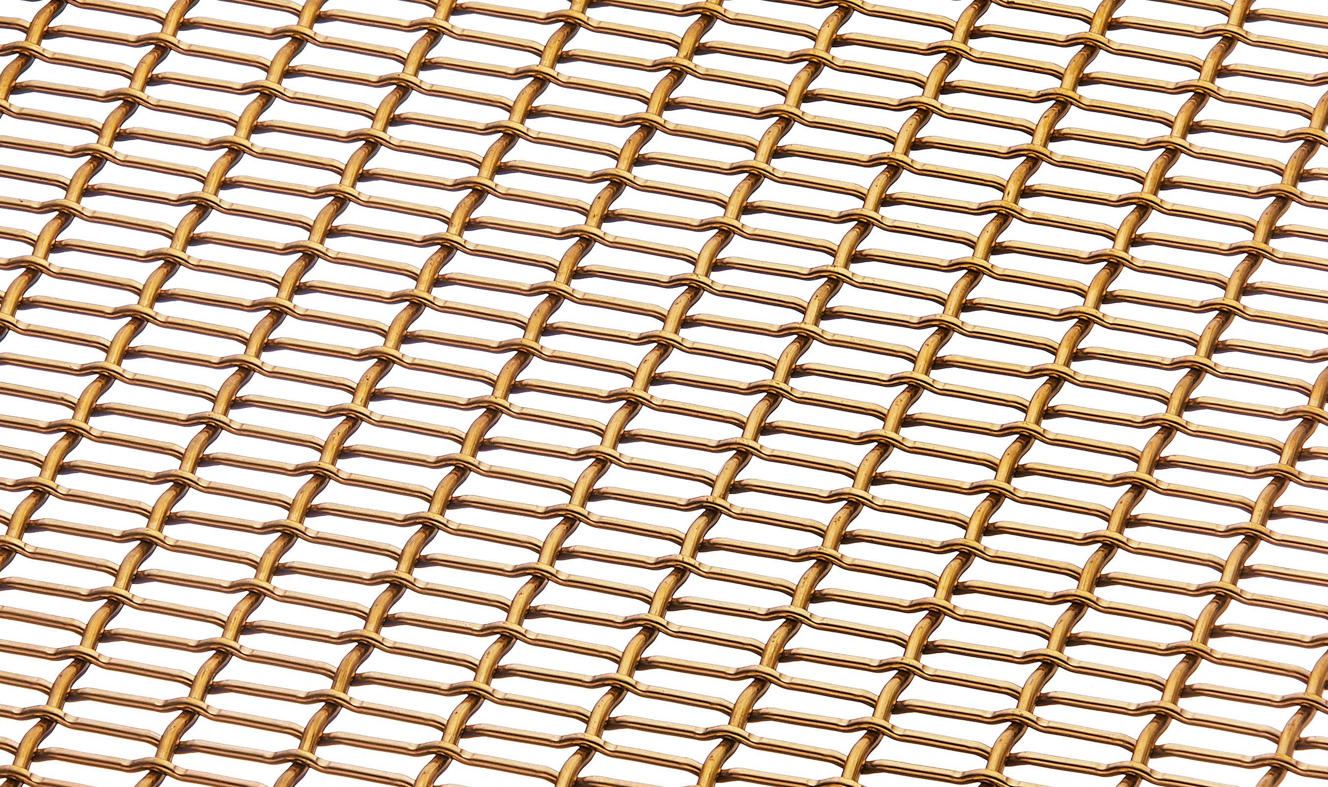 LPZ-28 Hero woven wire mesh in bronze.