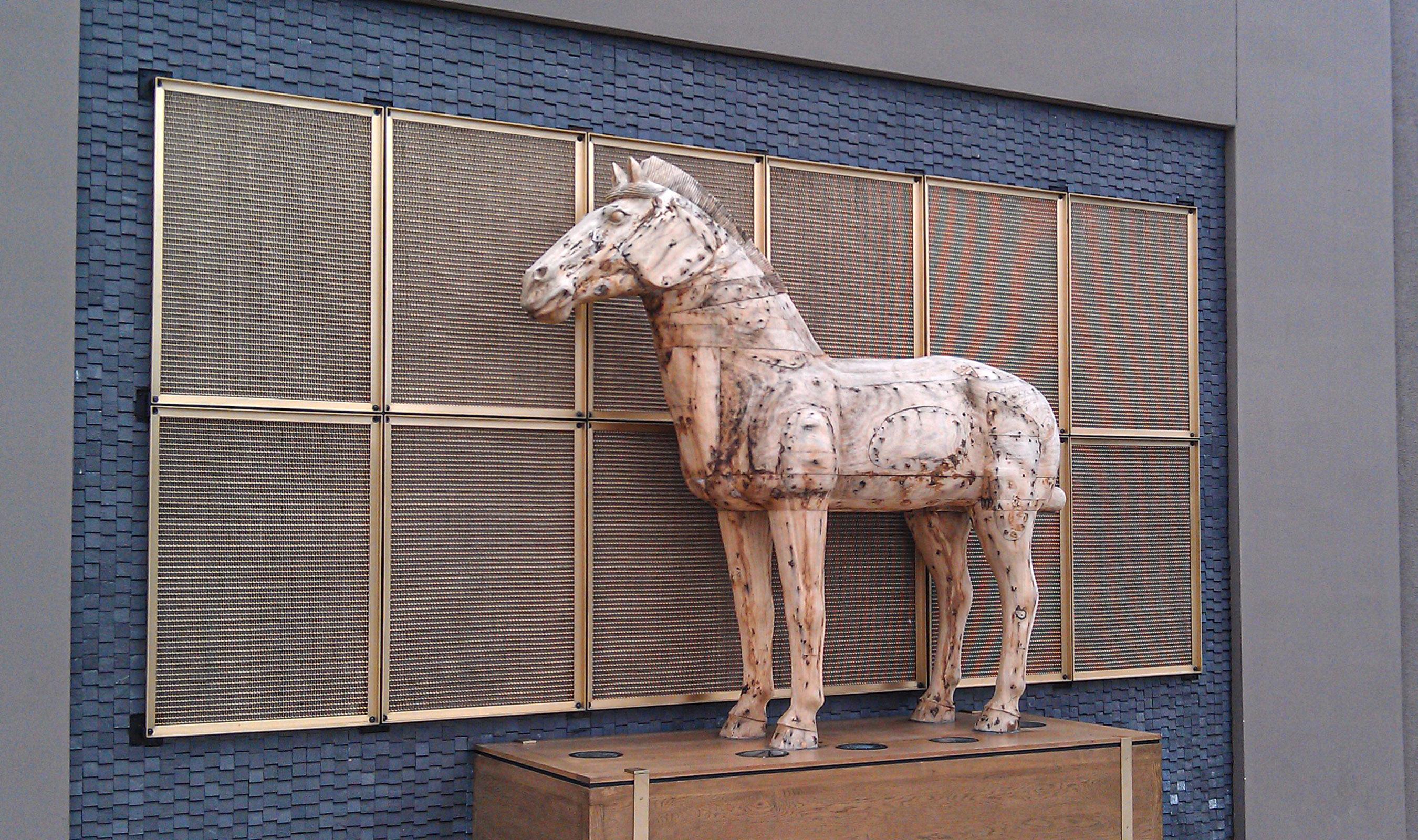 M12Z-27 Brass exterior wall panels