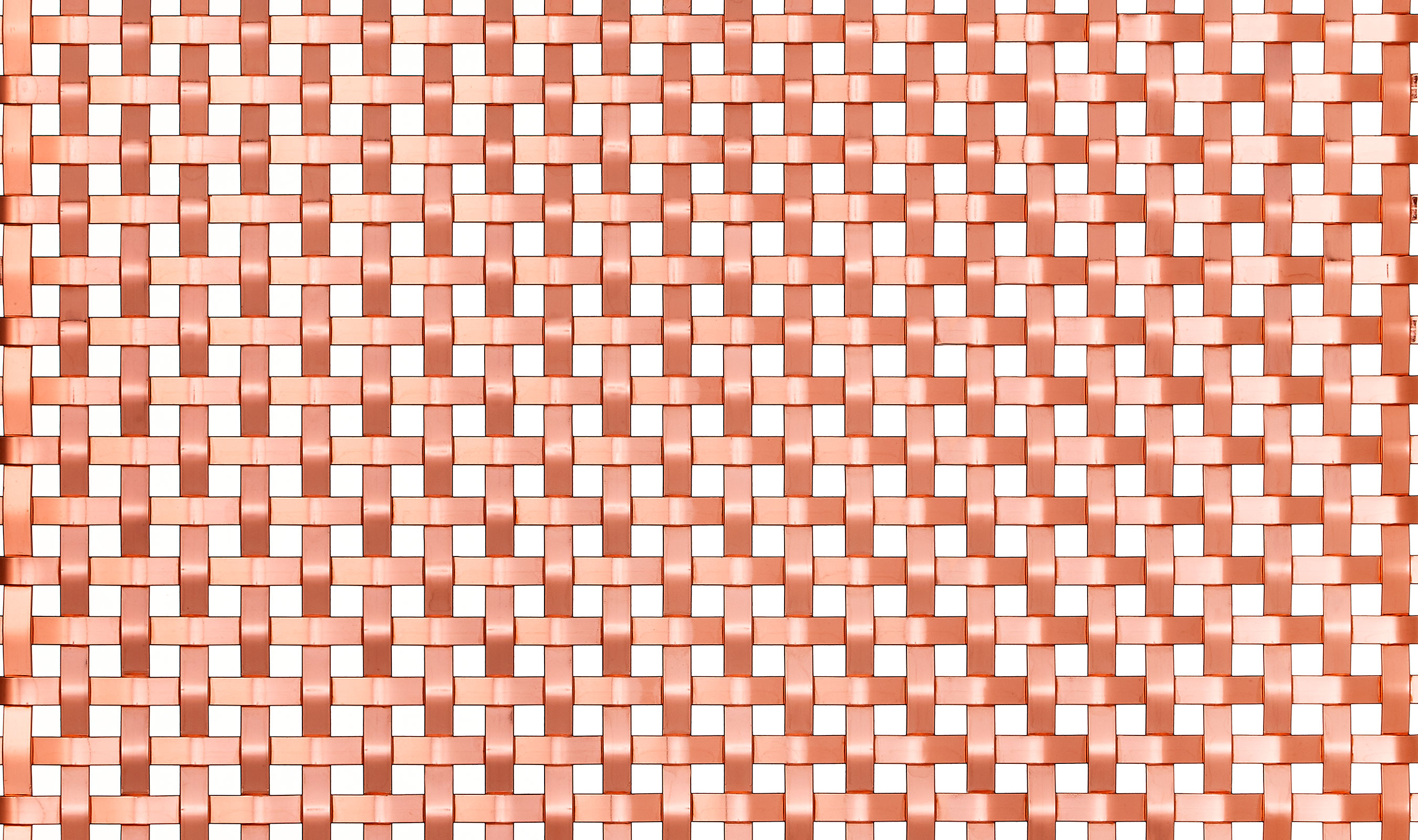 S-30 wire mesh pattern Bright Copper Plated