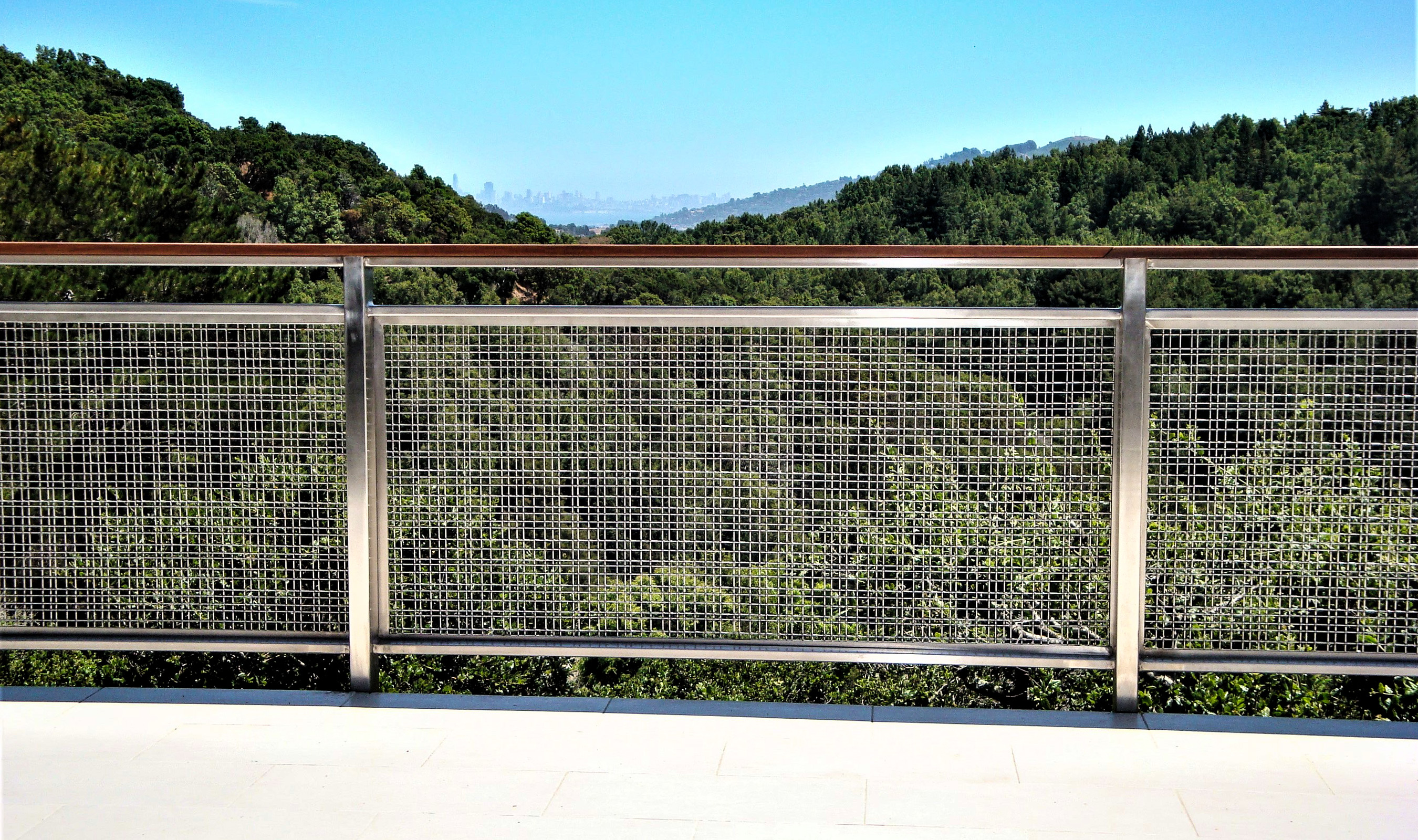 SJD-2 Stainless Steel wire mesh railing infill panel