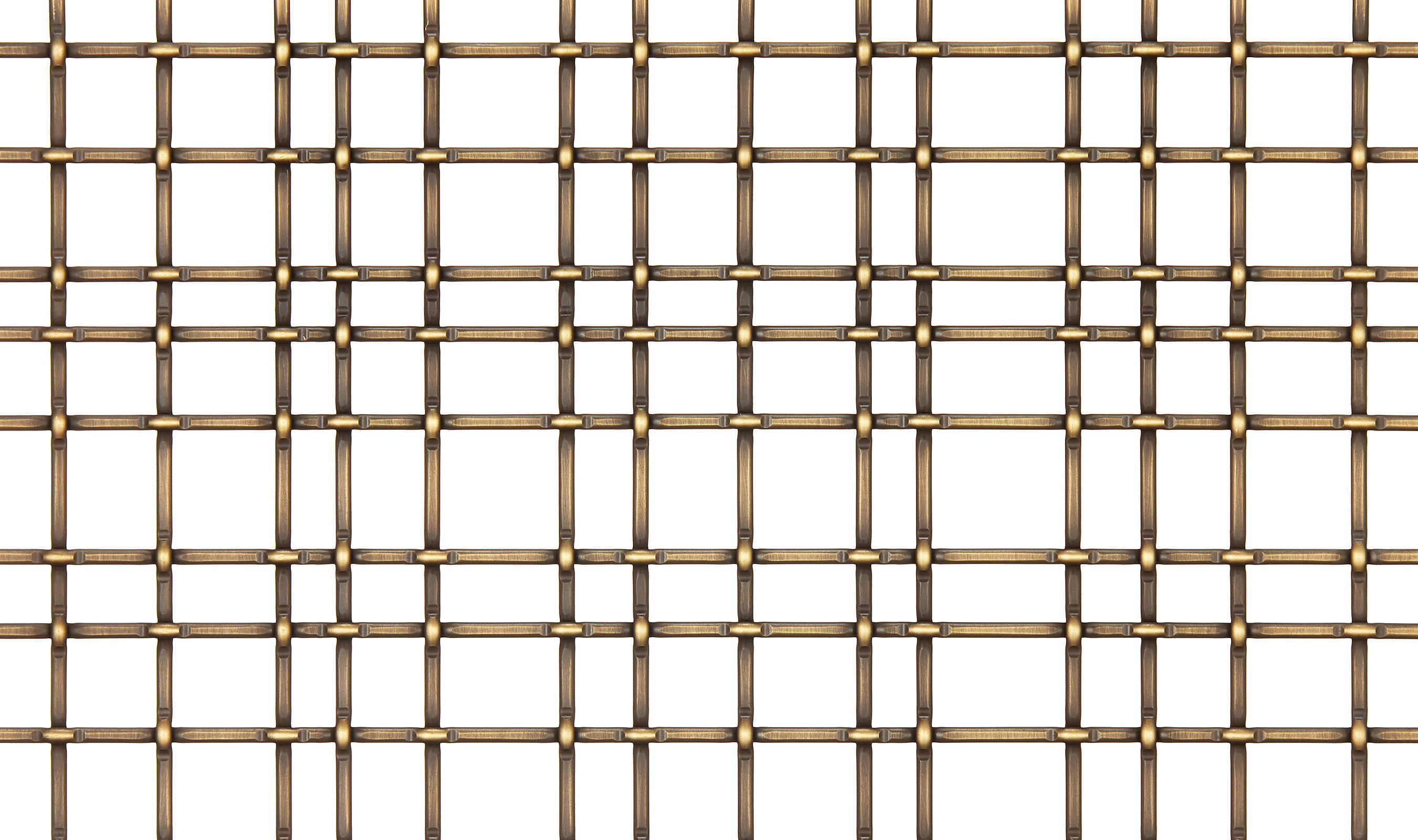 SJD-2 wire mesh Antique Brass Plated Finish