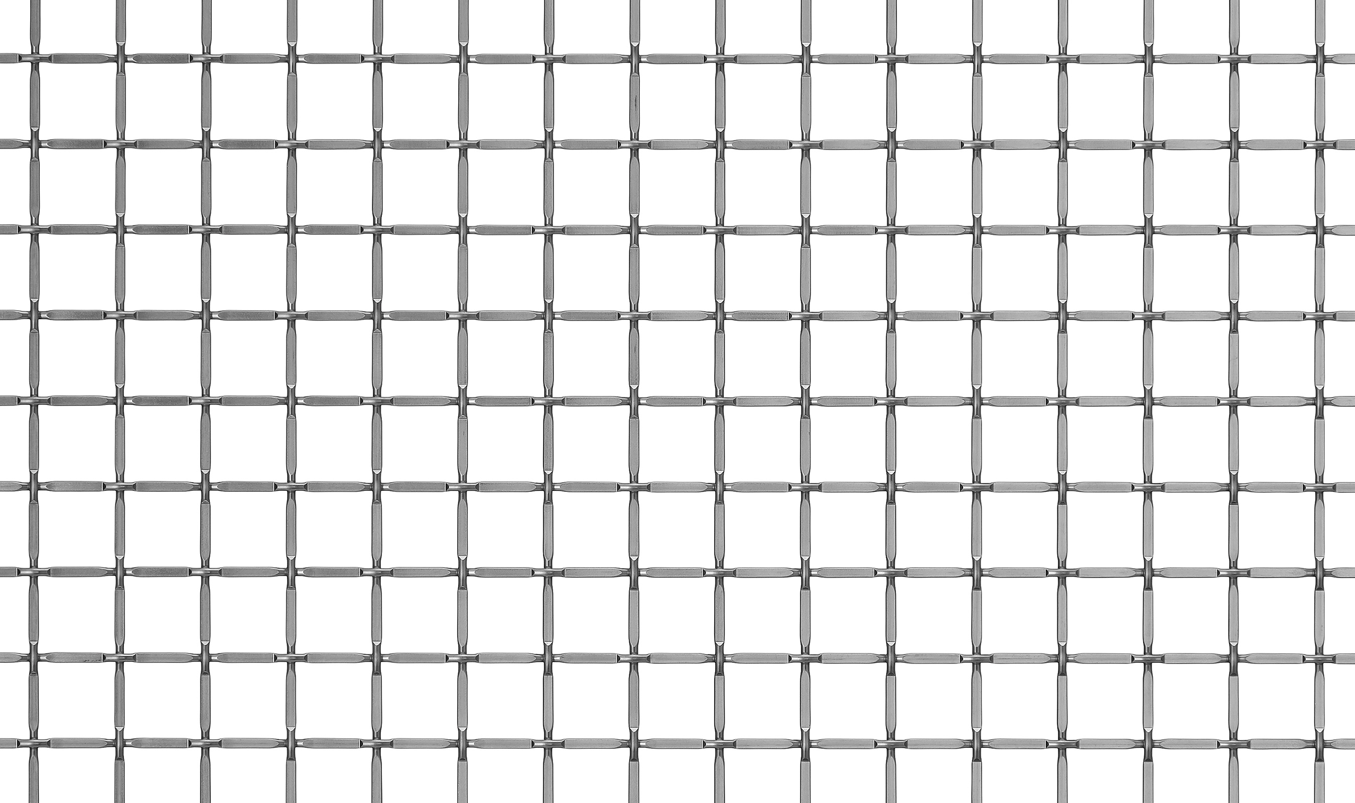 S-47 woven wire mesh in stainless steel.