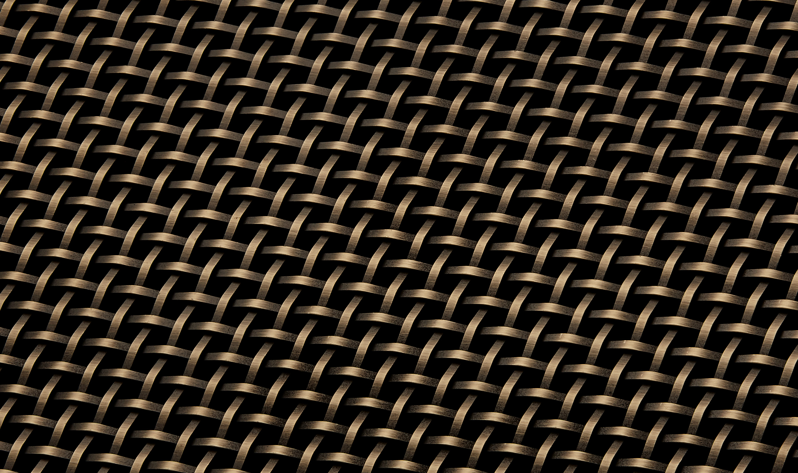 S-50 Antique Brass Plated Finish wire mesh