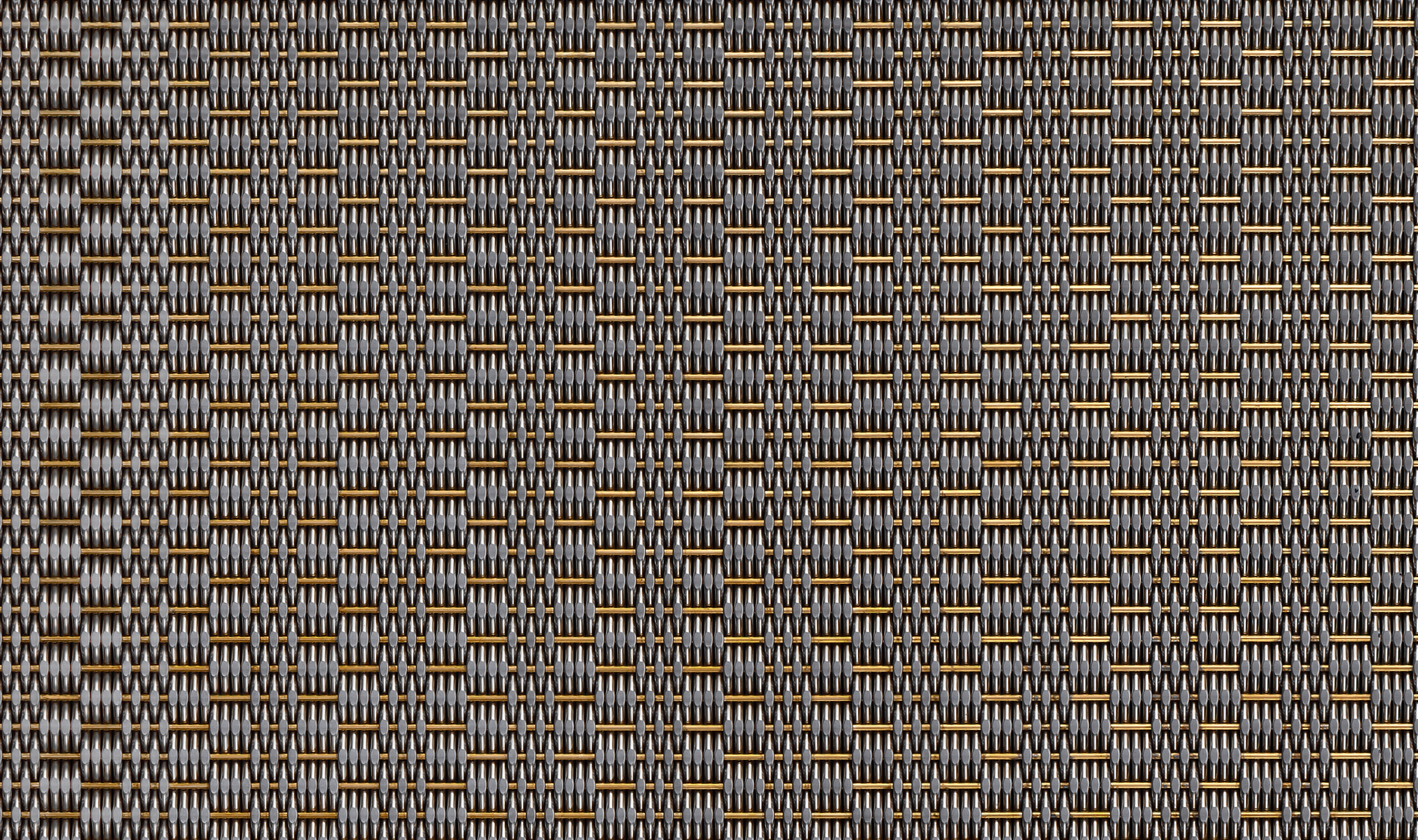 DS-81 Decorative cladding mesh woven in brass and stainless steel