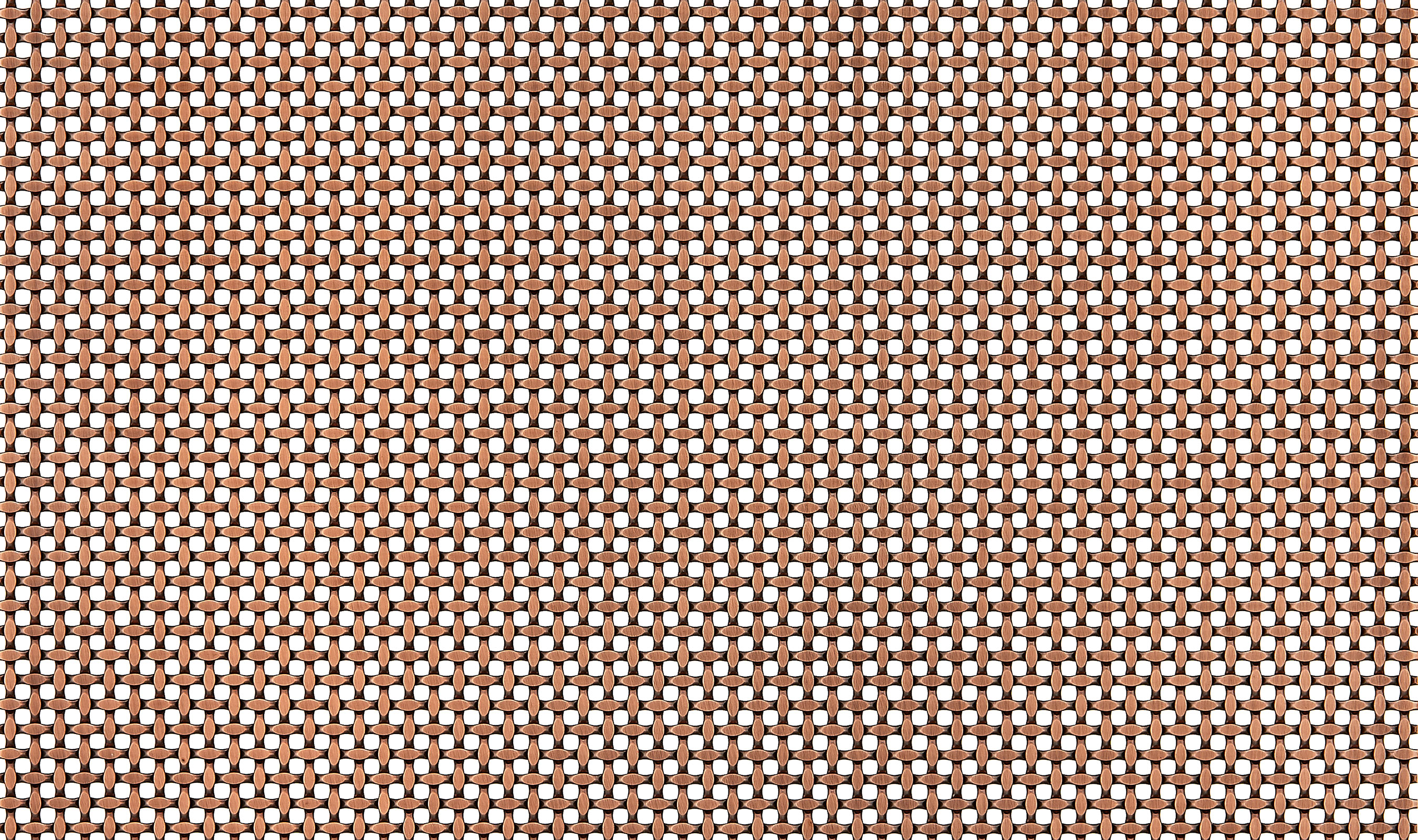 S-55 Antique Copper Plated wire mesh pattern