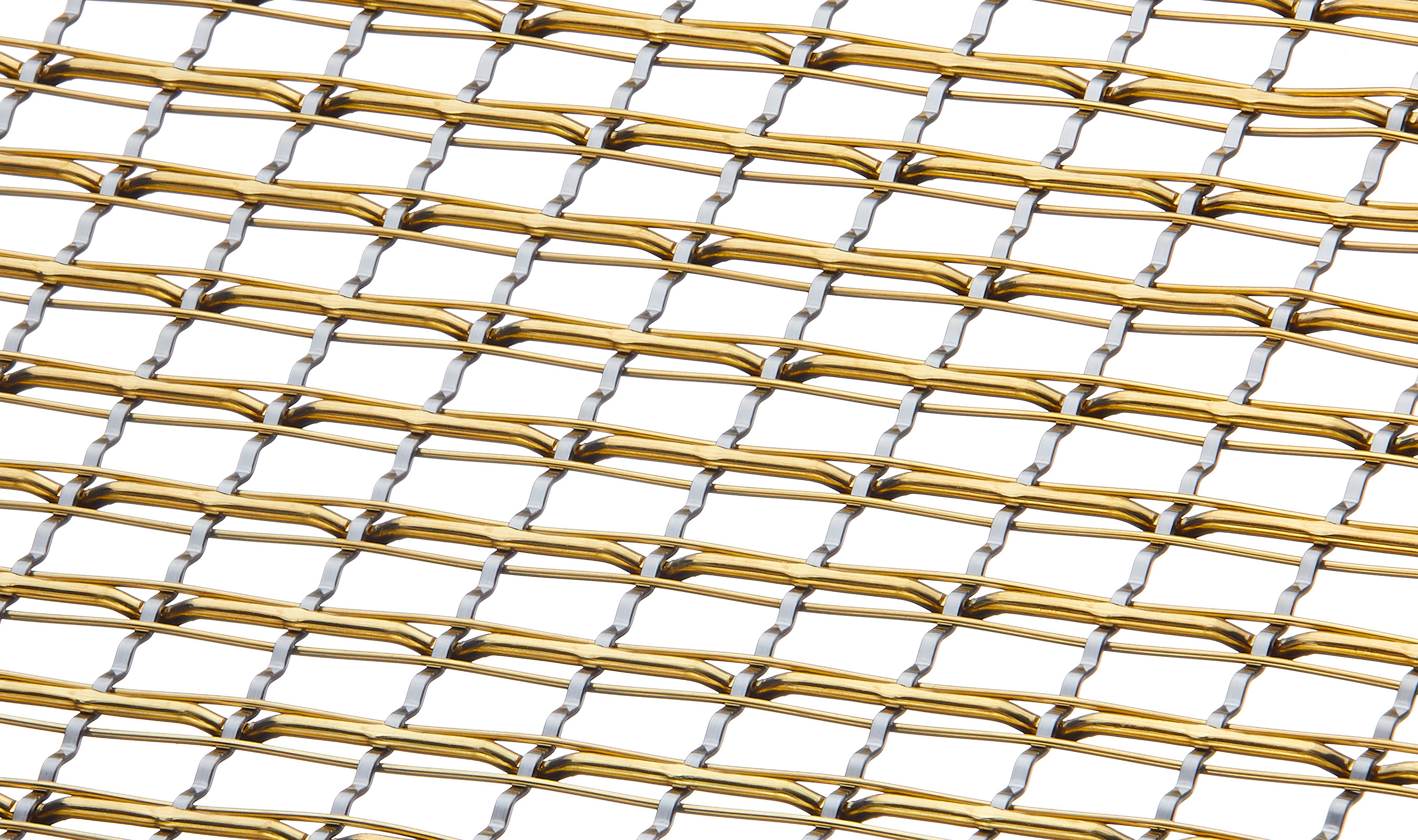 SJD-7 Stainless Steel and Brass wire mesh pattern