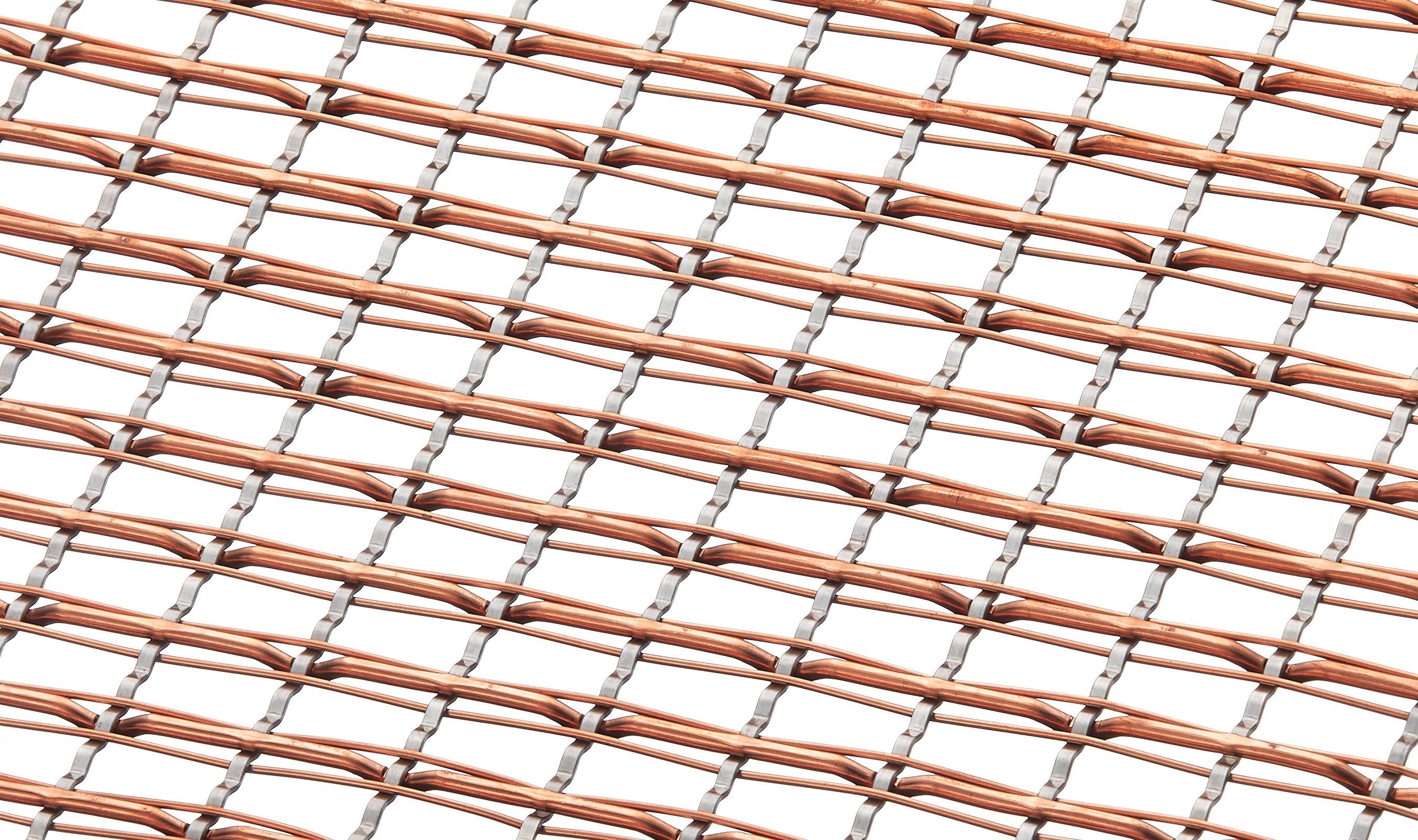 SJD-7 Stainless Steel and Copper Mixed alloy mesh weave