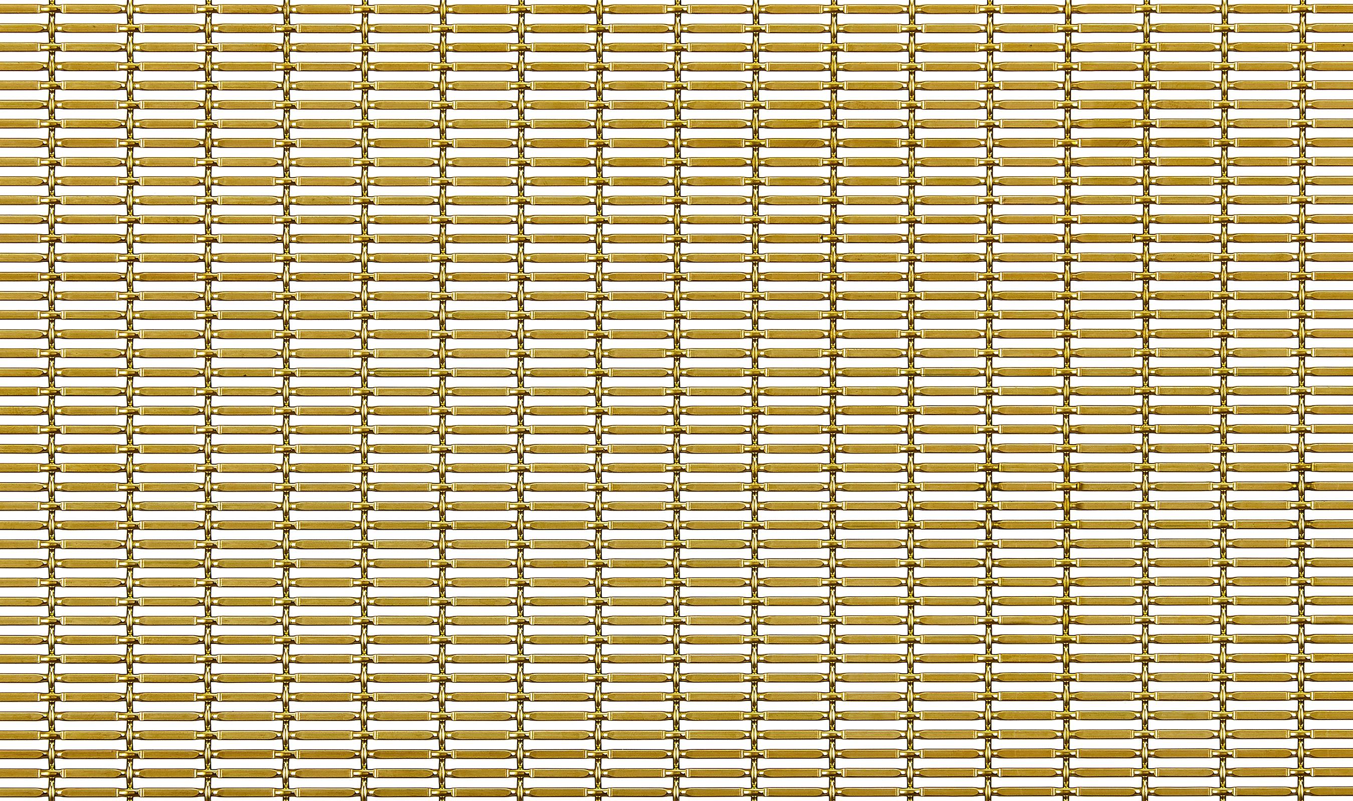 SPZ-52 architectural fine woven wire mesh in brass