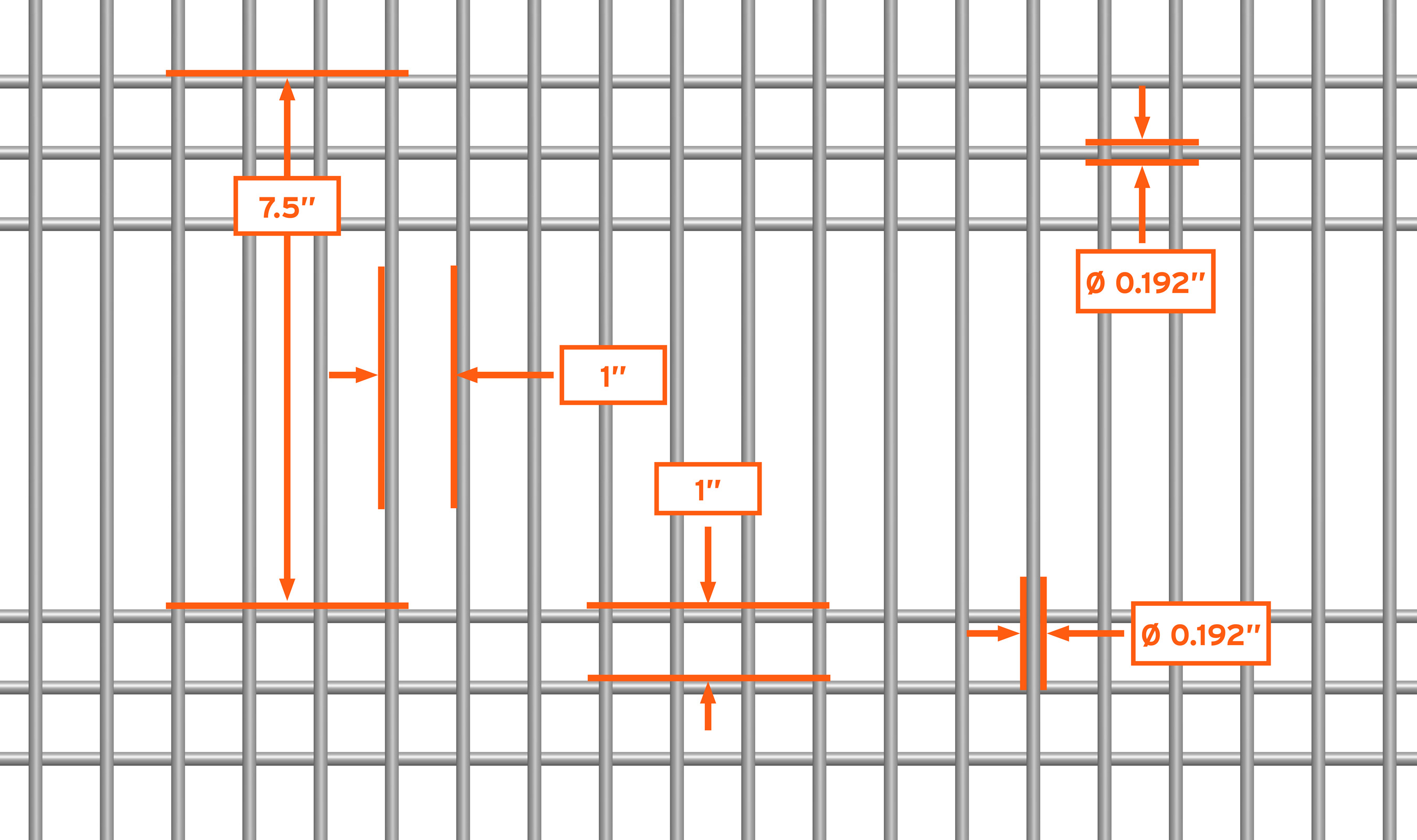 WDZ-539 mesh pattern repeat detail drawing