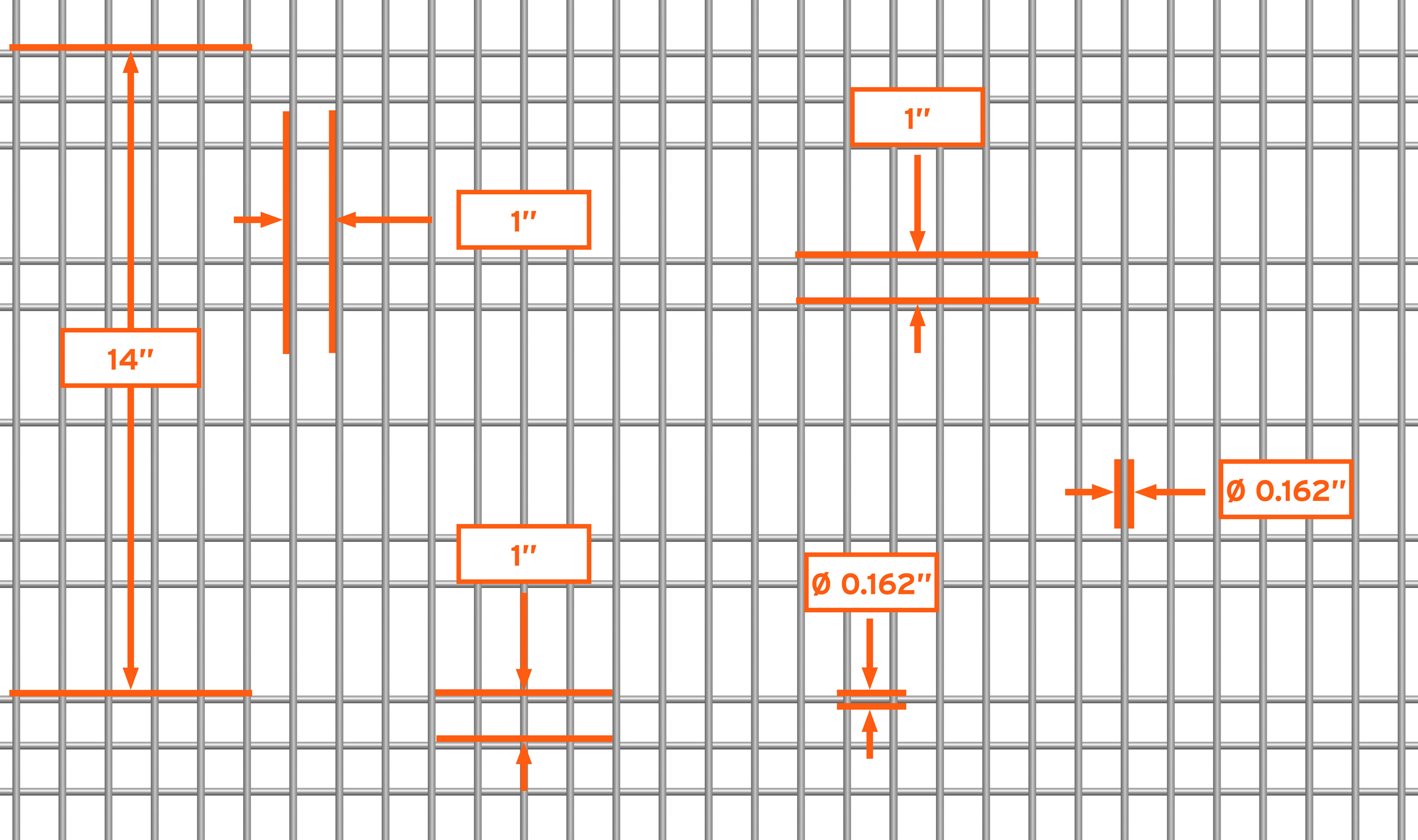 WDZ-540 mesh pattern repeat detail drawing