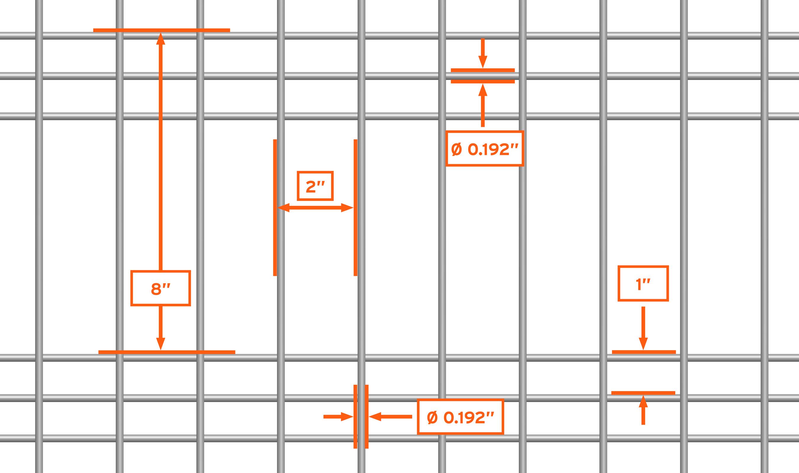 WDZ-545 mesh pattern repeat detail drawing