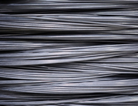 Available in these materials is one of our woven wire mesh