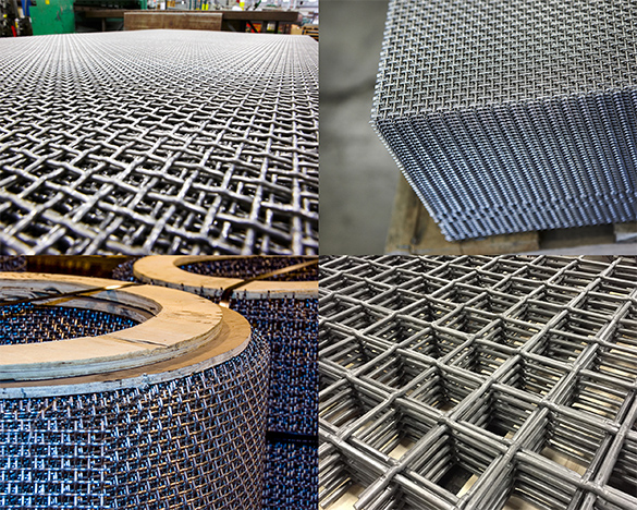 one of our products as an example of a woven wire mesh