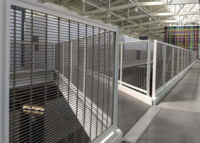 sfai, fencing and railings architectural mesh