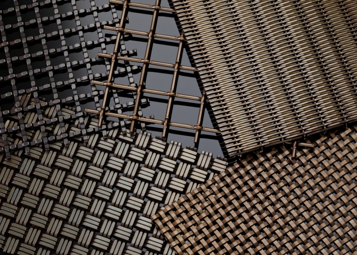 US10B Finish - Banker Wire Mesh