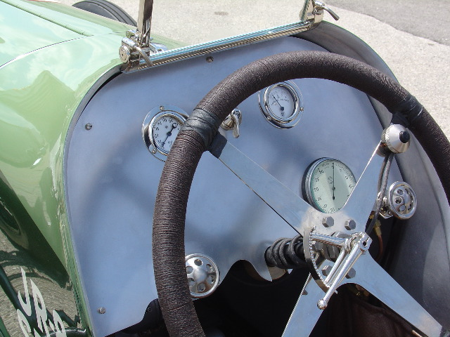 Only about fifteen of this type of car was ever produced and Banker Wire contributed to the restoration of one.