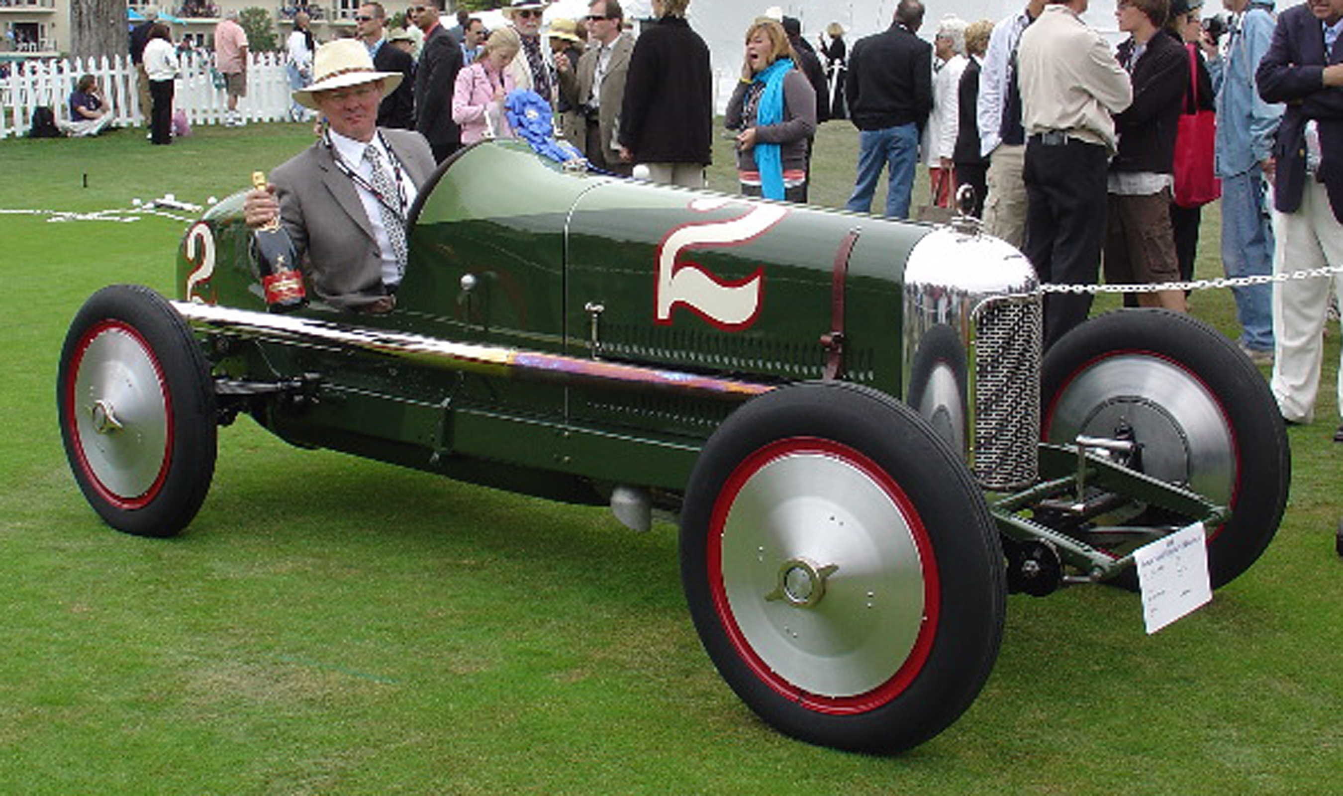 Banker Wire assisted in the restoration of a 1923 Miller 122 Supercharged Race Car.