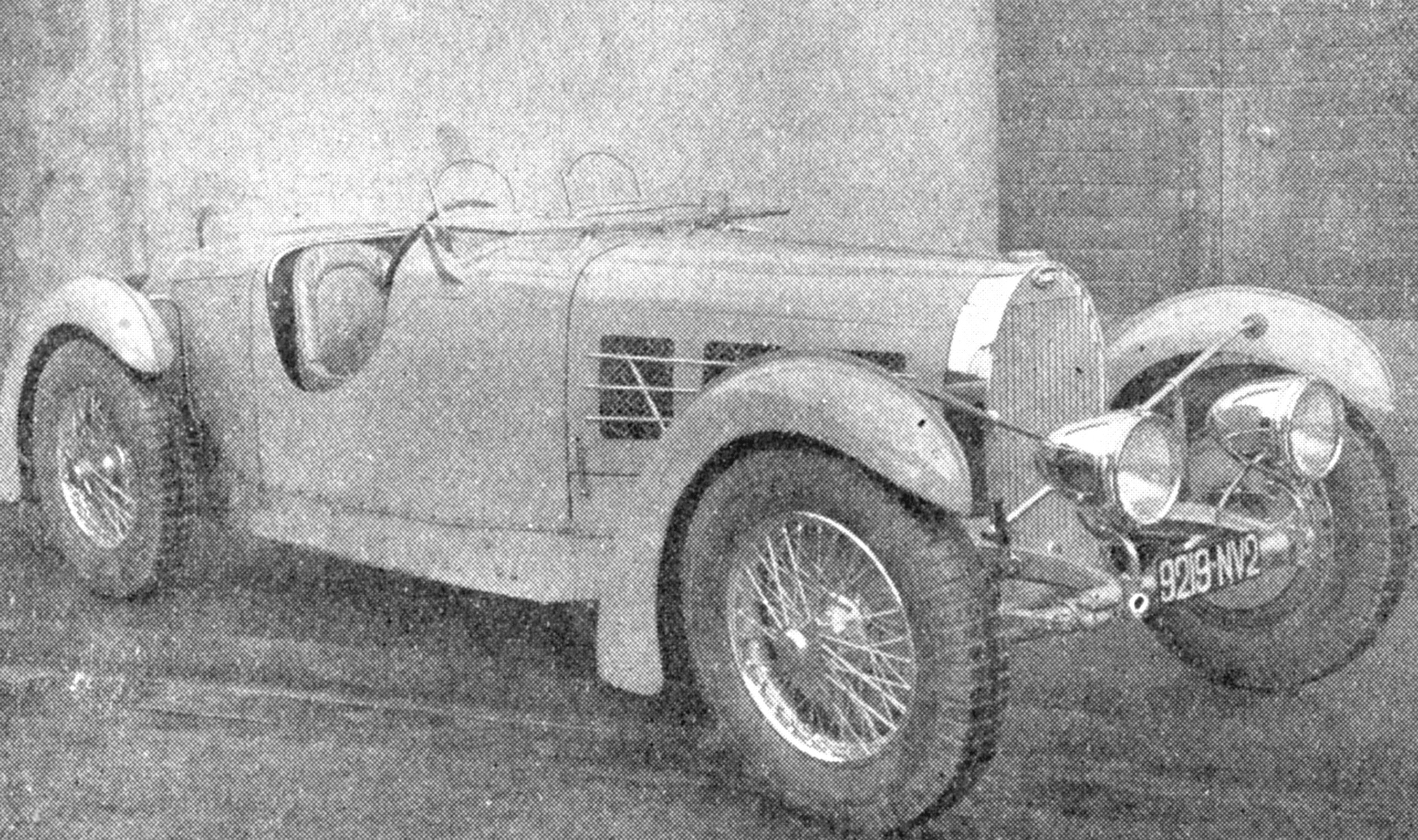 Banker Wire aided in the restoration of this 1935 Bugatti 57SC.