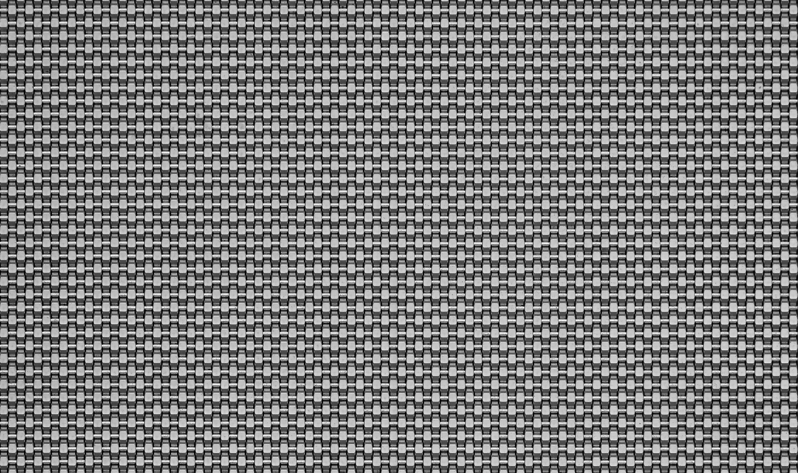 DS-18 opaque Architectural Wire Mesh woven in Stainless Steel