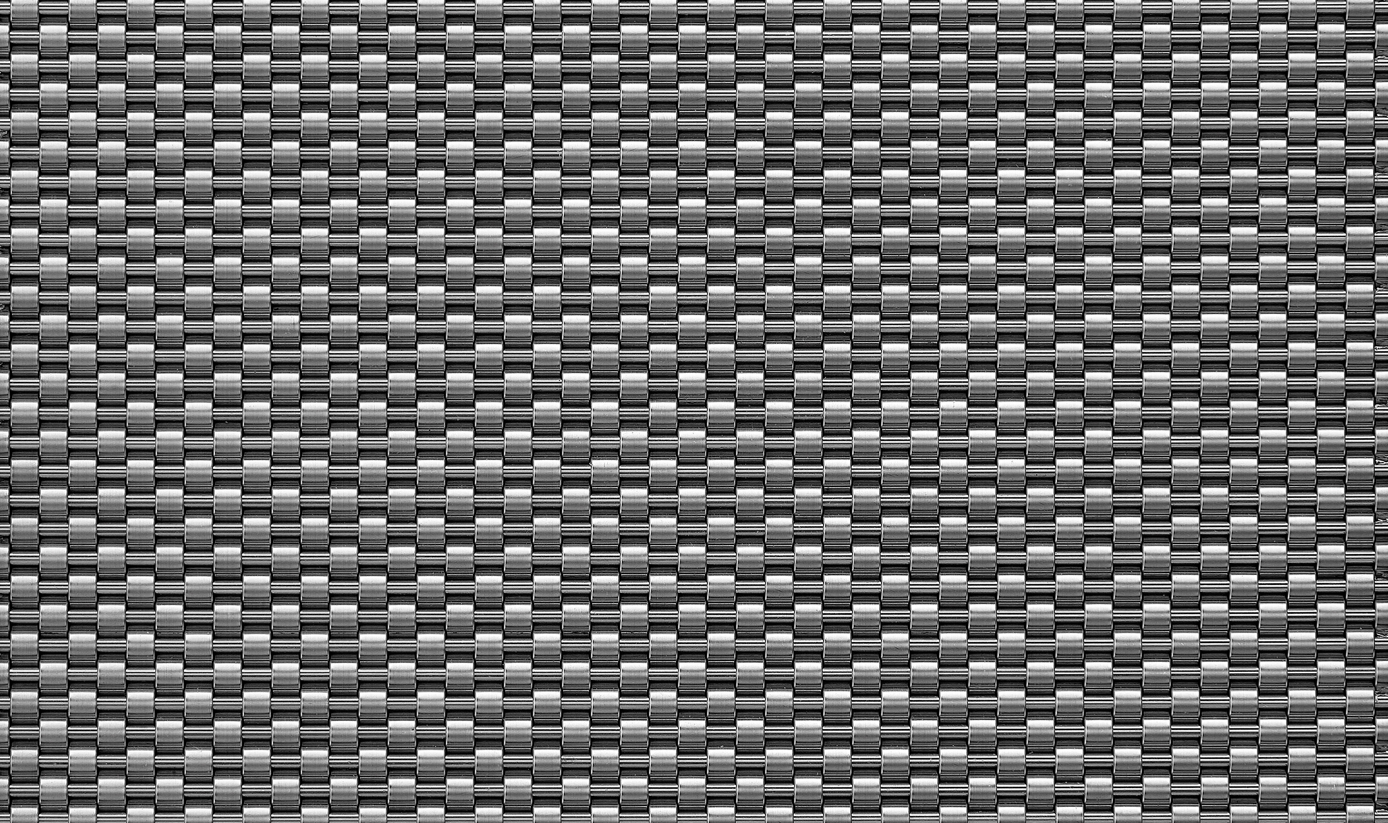 DS-41 decorative opaque woven wire mesh in stainless steel