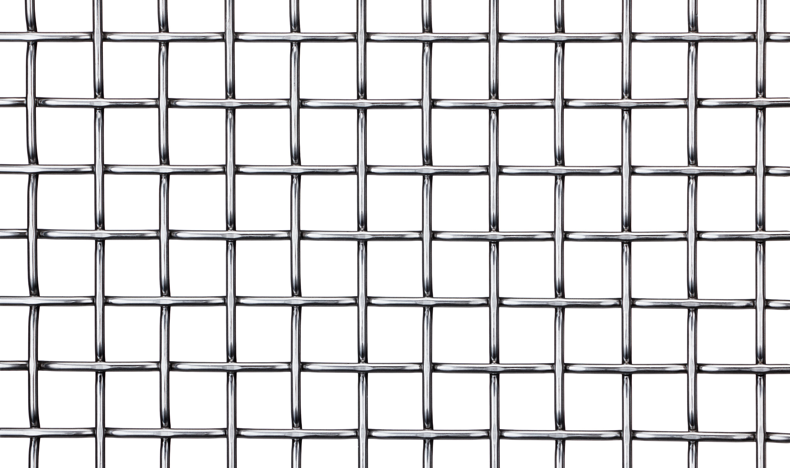 F-48 Front in Stainless Woven Wire Mesh