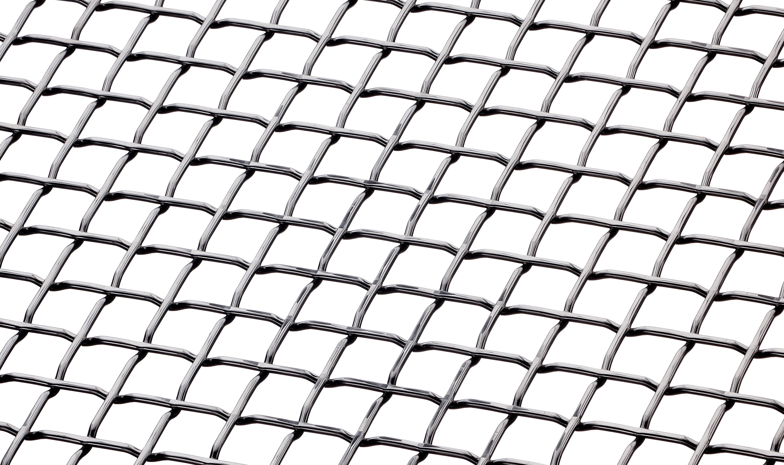 F-83 Angle in Stainless Woven Wire Mesh