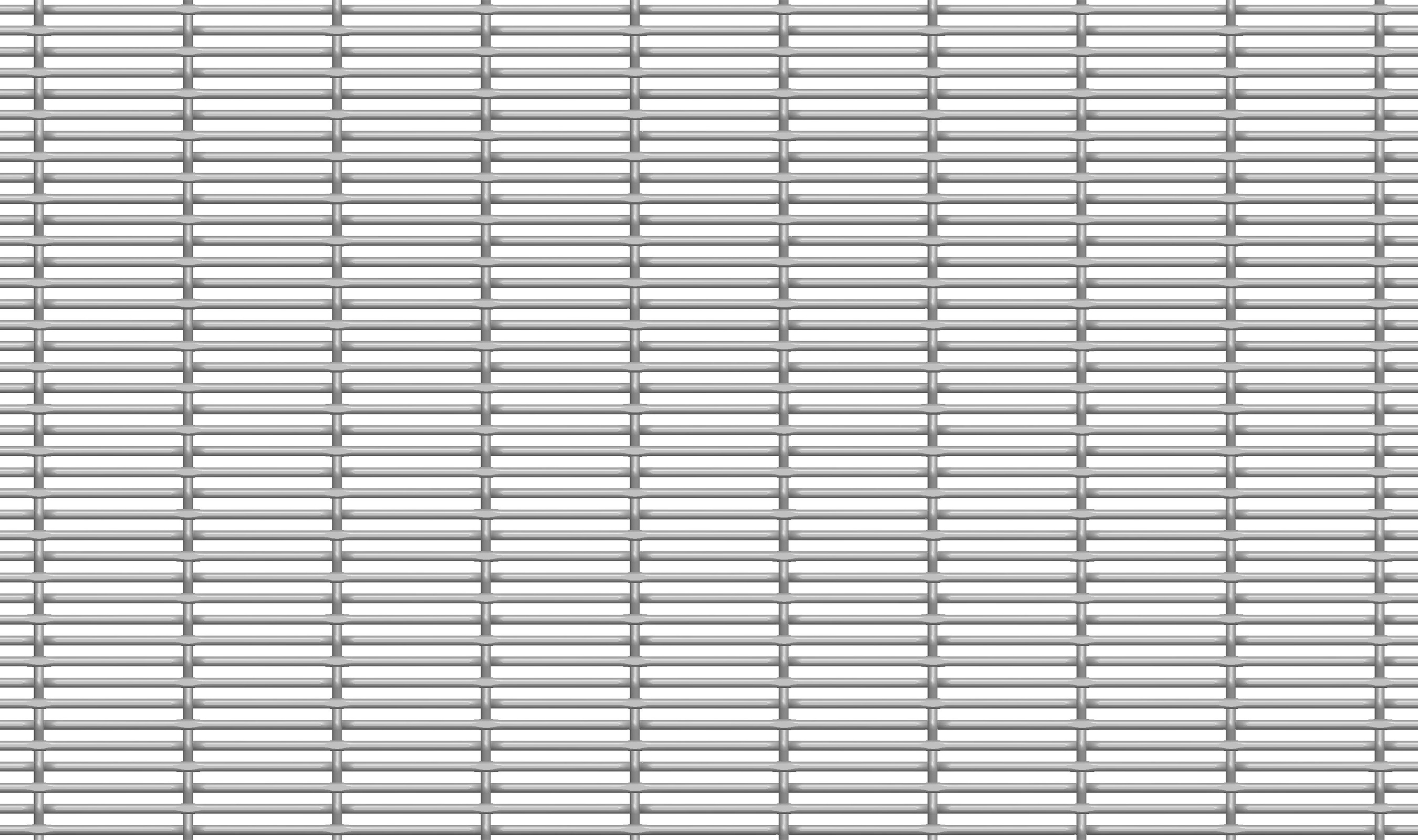 FPZ-55 woven wire mesh in CAD