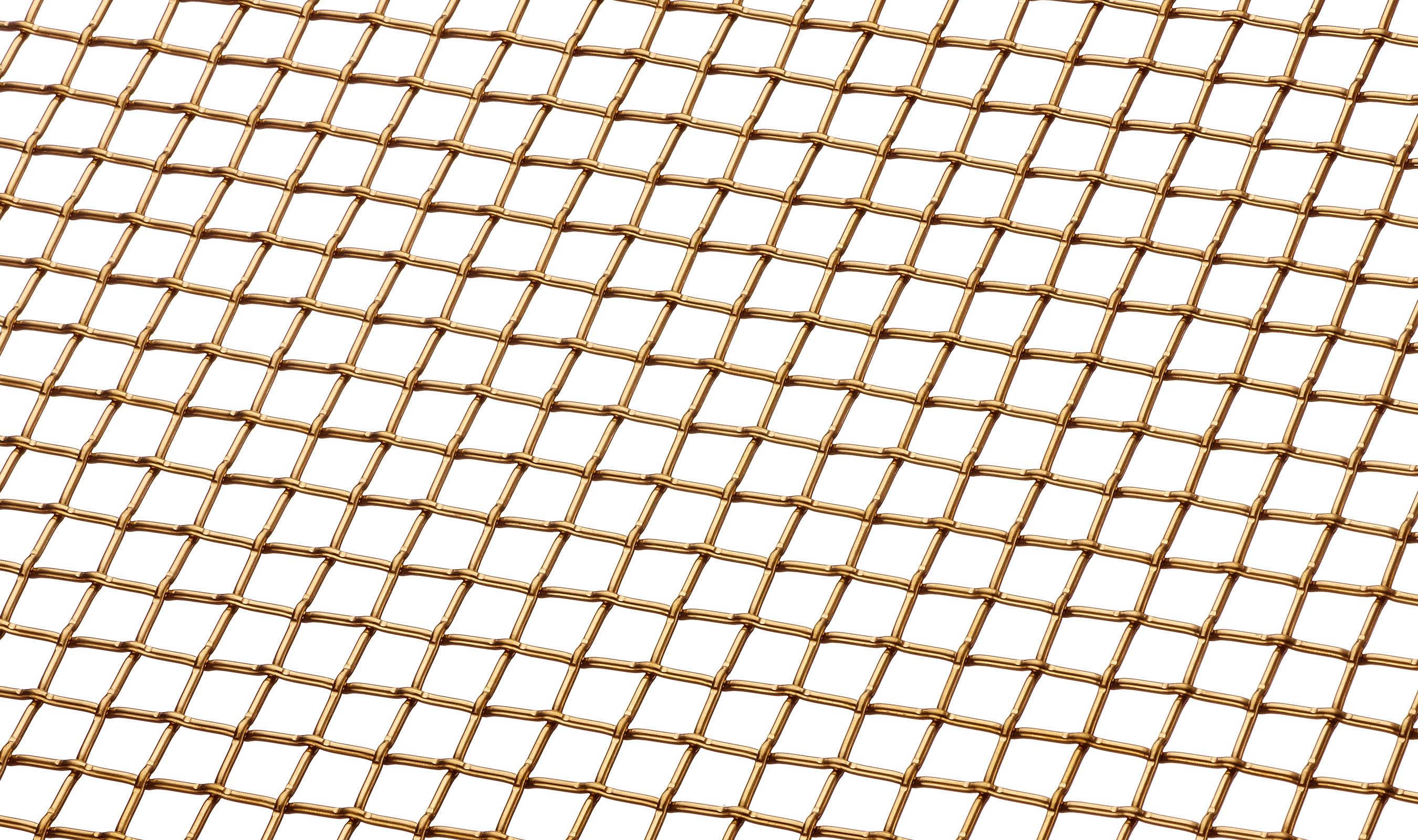 L-441 Angle in Bronze Woven Wire Mesh