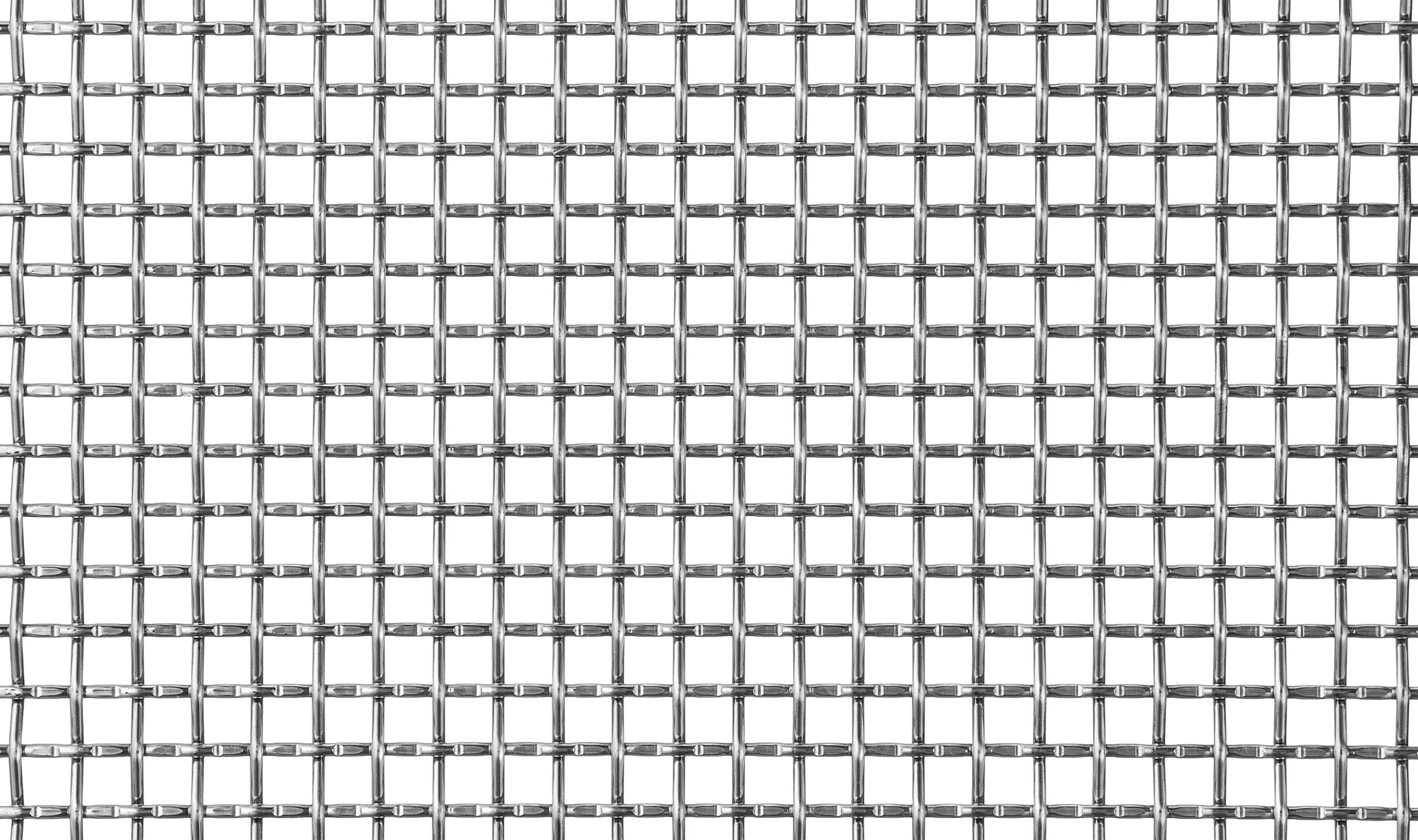 (LP-24) 2 MESH .120 Lock Crimp/Plain Woven Wire Mesh