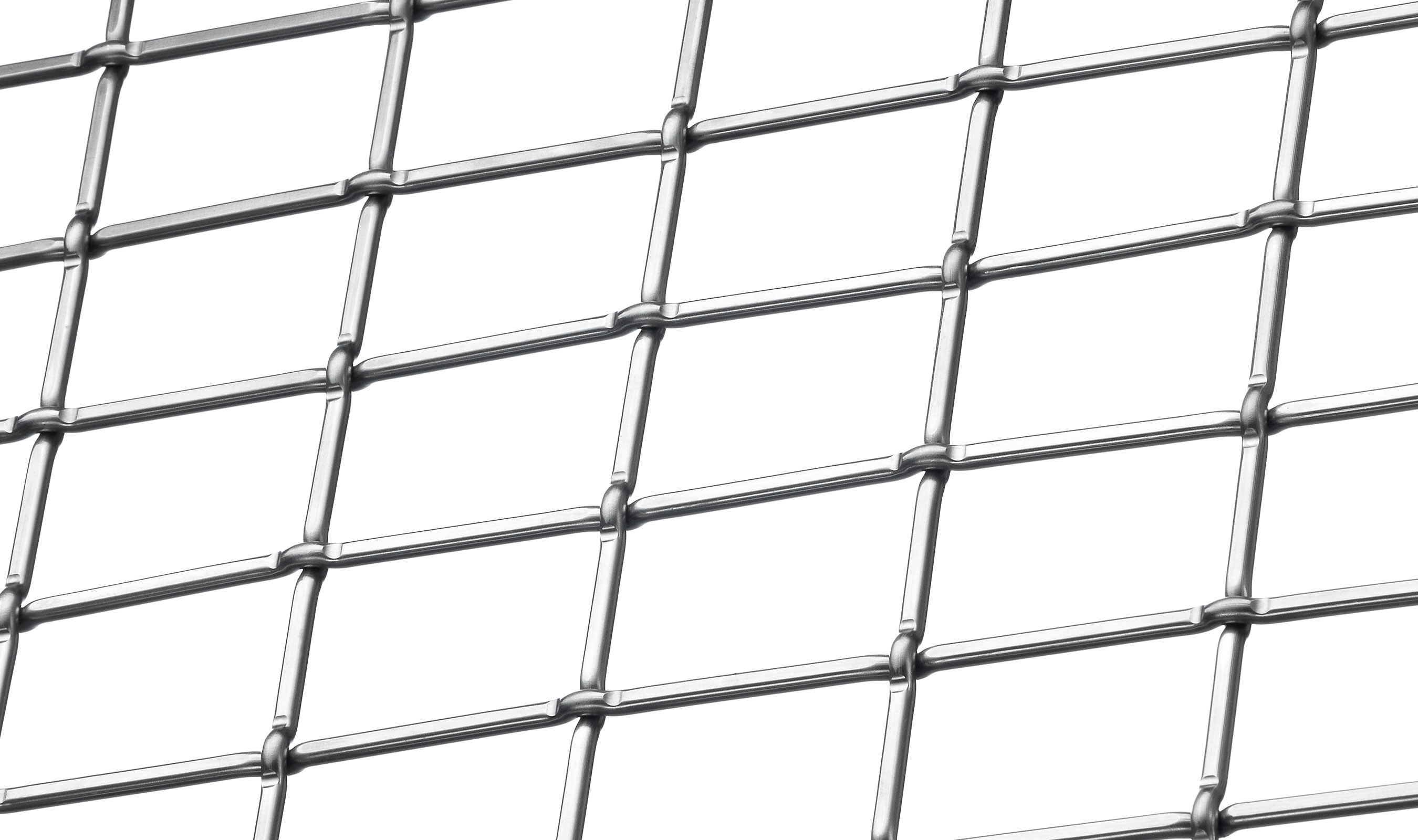 LZ-55 in Stainless architectural wire mesh