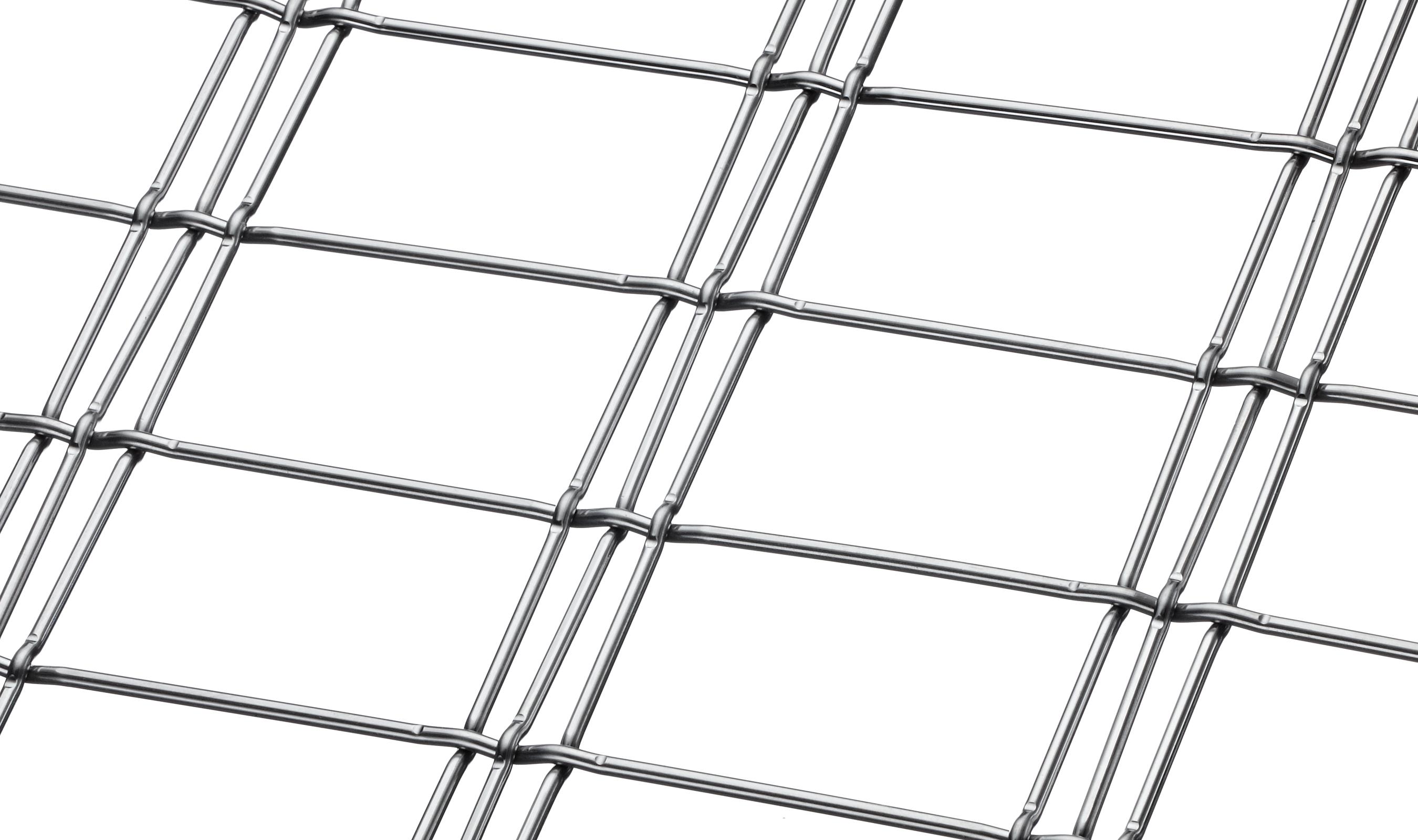 M13Z-141 architectural wire mesh triple shute pattern