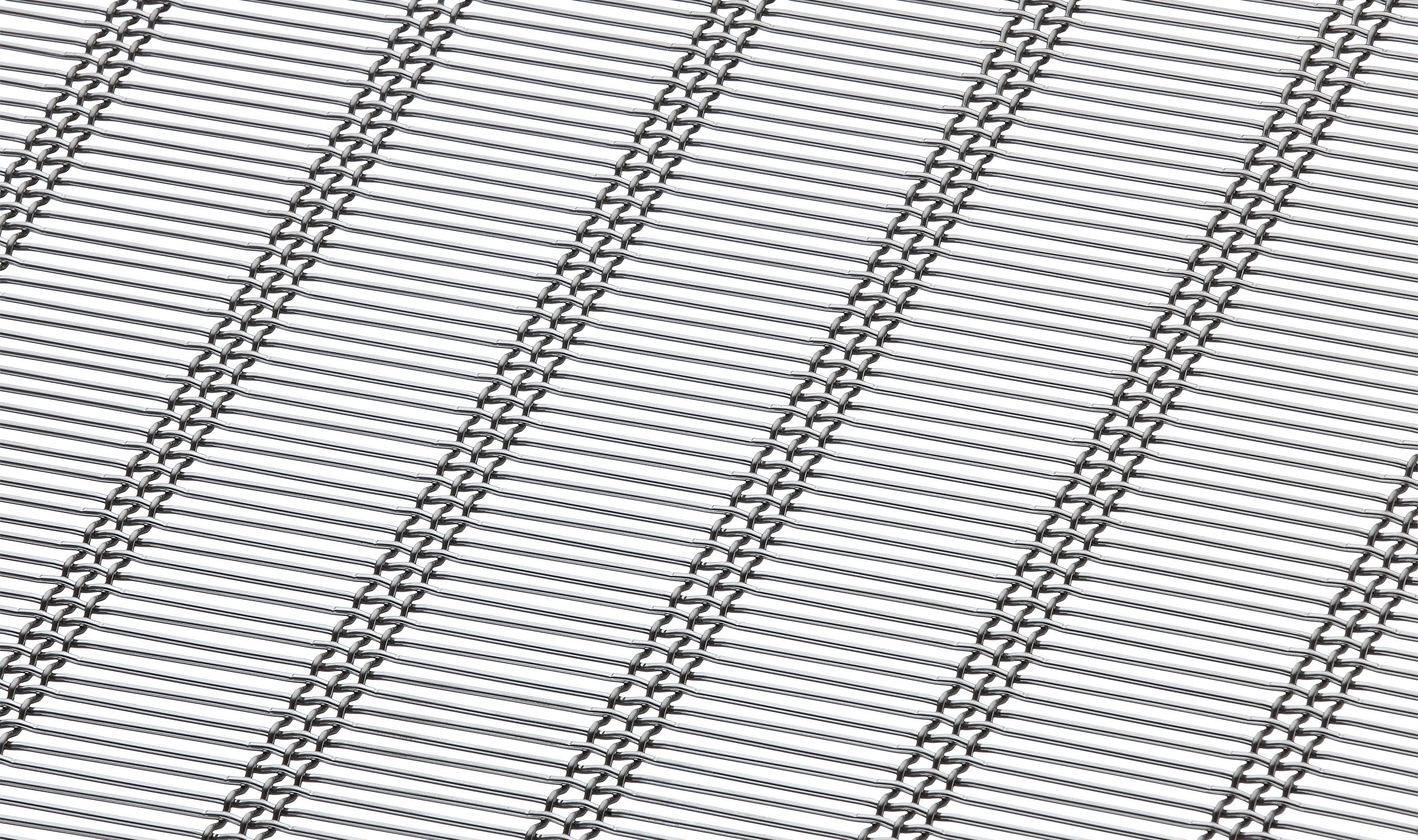 M13Z-339 triple shute wire mesh pattern in stainless steel