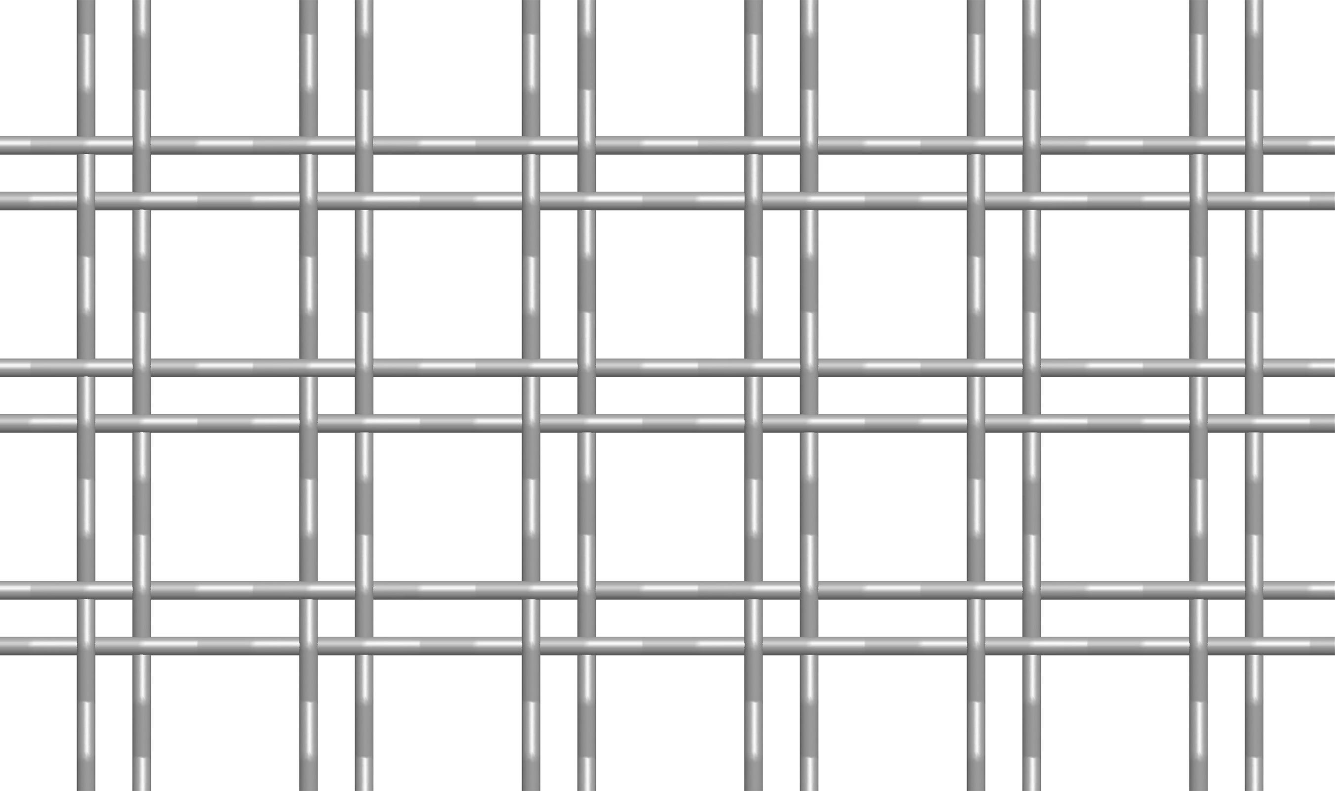 M22-1 twin wire intercrimp mesh pattern