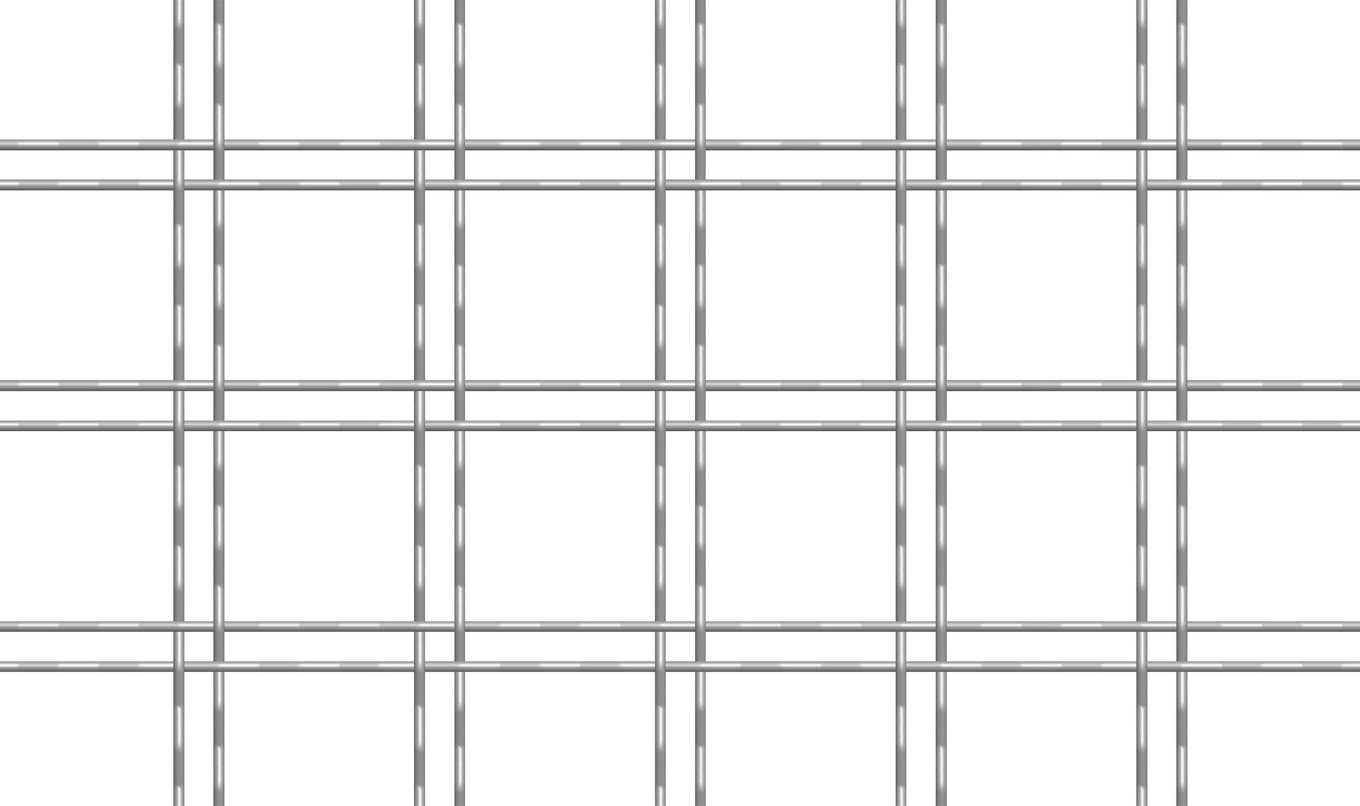 M22-97 wire mesh drawn in CAD