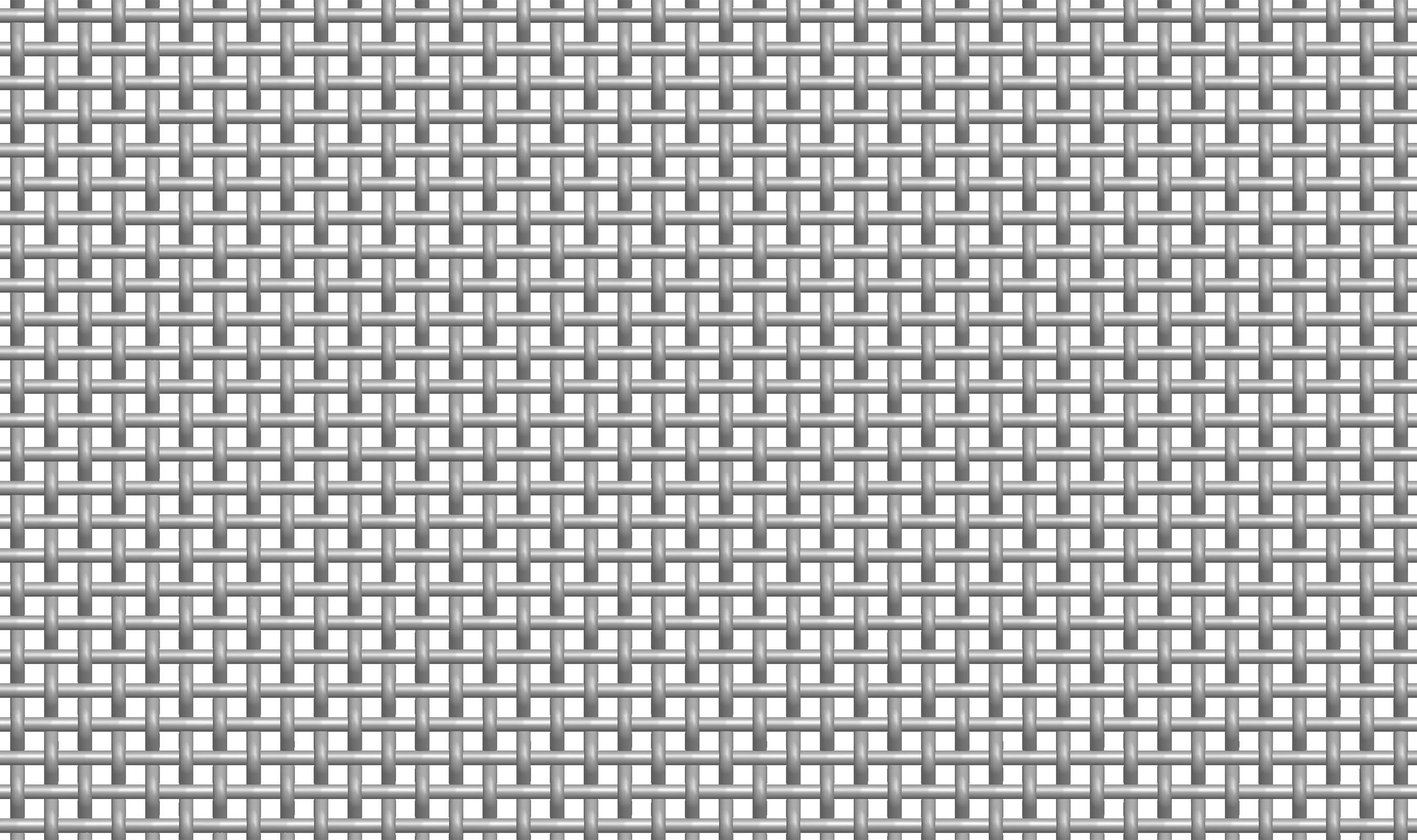 (P-111) 3-1/2 MESH .120 Plain Crimp Woven Wire Mesh