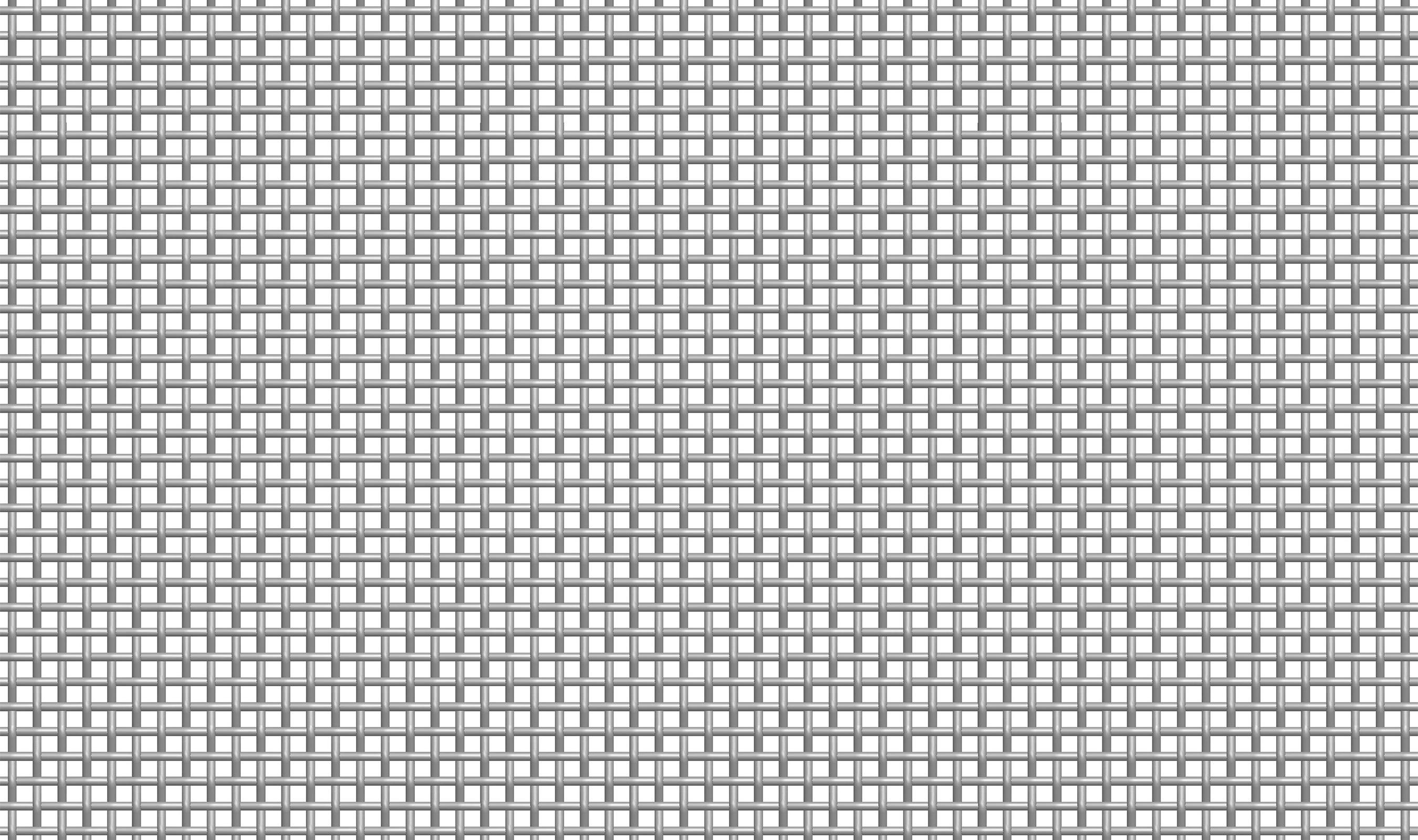 (P-137) 4-3/4 MESH .072 Plain Crimp Woven Wire Mesh