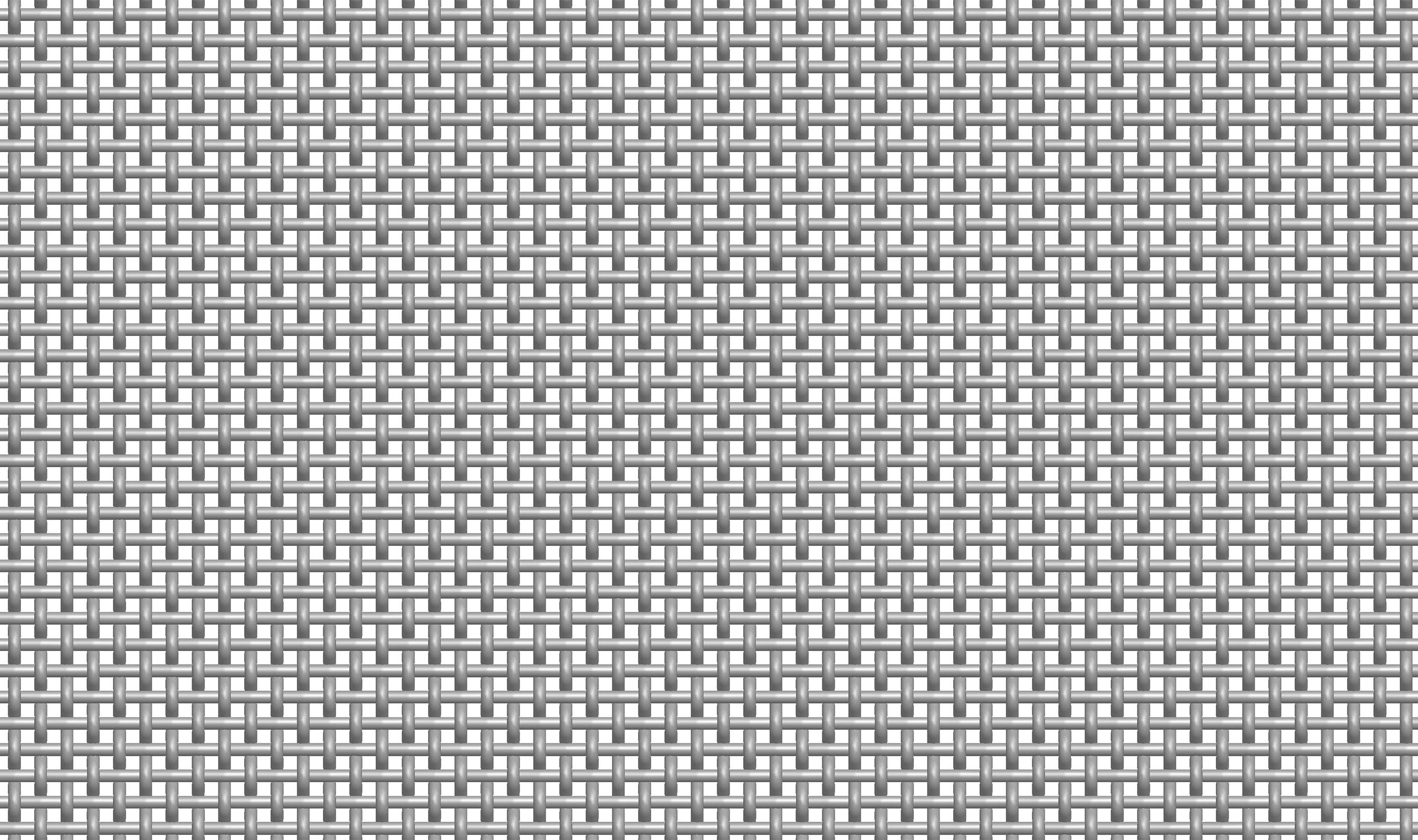(P-66) 4-1/2 MESH .105 Plain Crimp Woven Wire Mesh